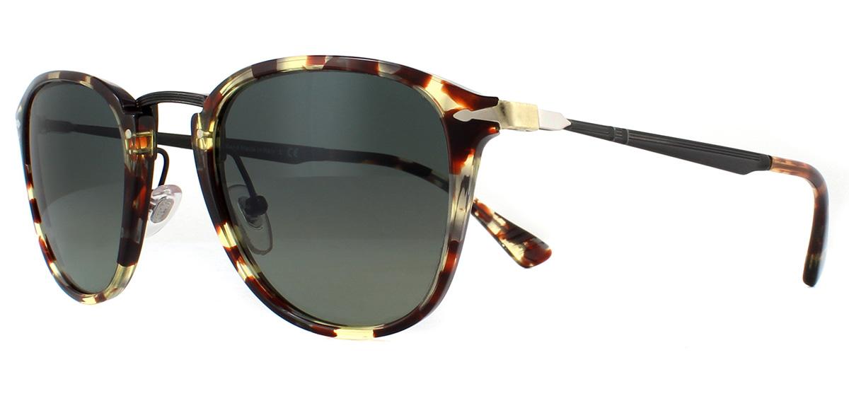 97db9a0c20a21 Sentinel Persol PO3165S Sunglasses Havana Grey Brown 105771 Grey Gradient  50mm