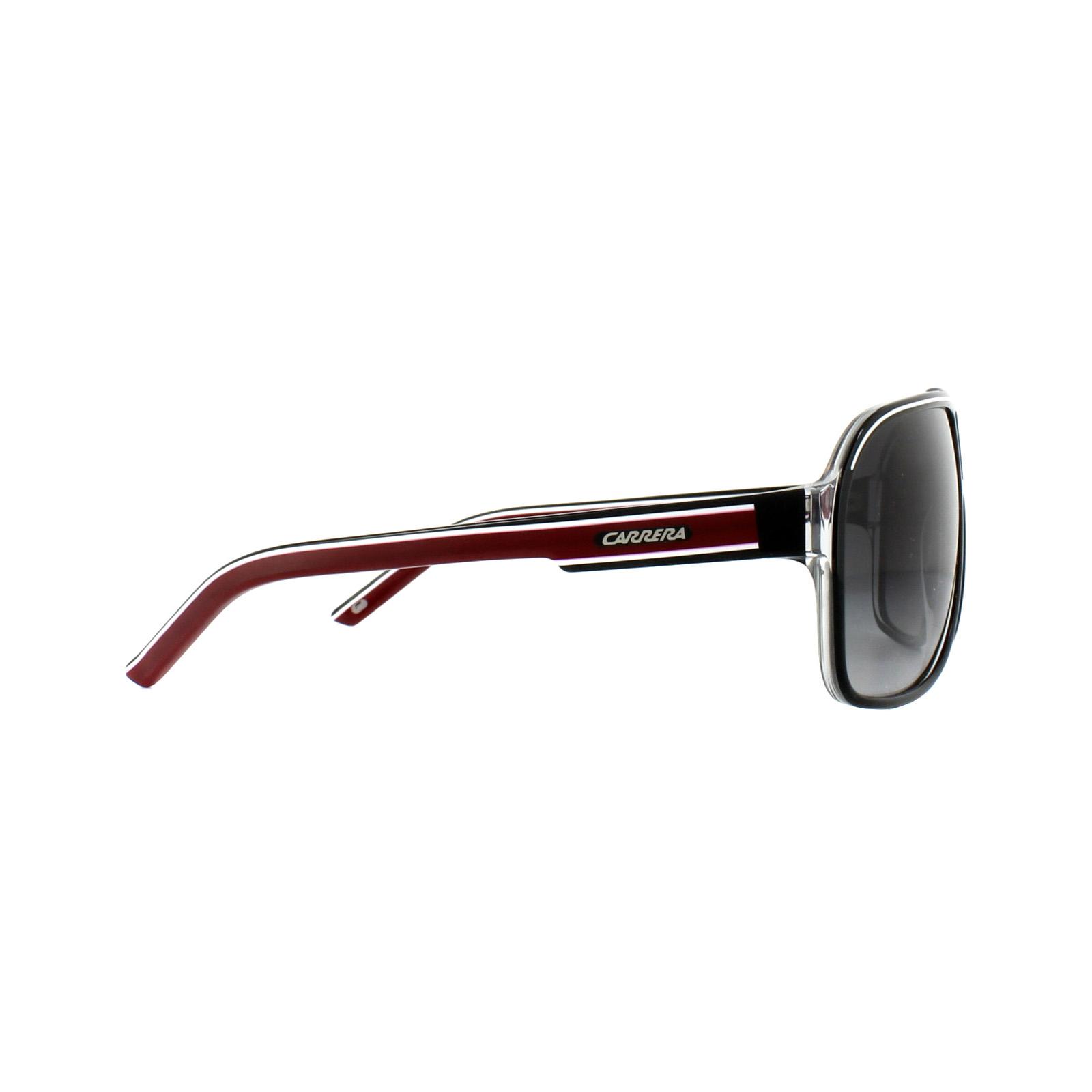 110df161c79c27 Sentinel Carrera Sunglasses Grand Prix 2 T4O 9O Black Dark Grey Gradient