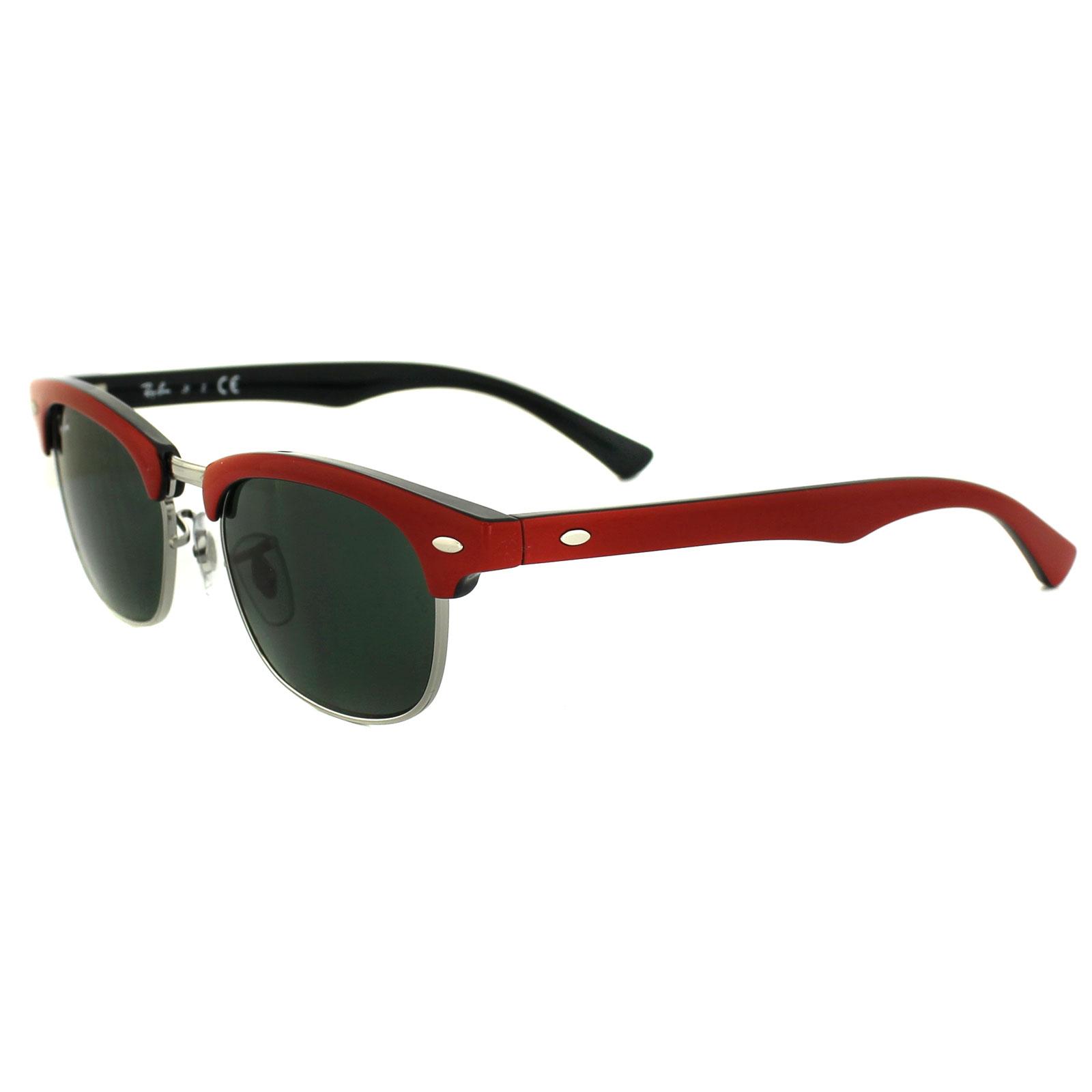 8bb78047fc Black Green  Cheap Ray-Ban Junior Sunglasses 9050 162 71 Red   Black ...