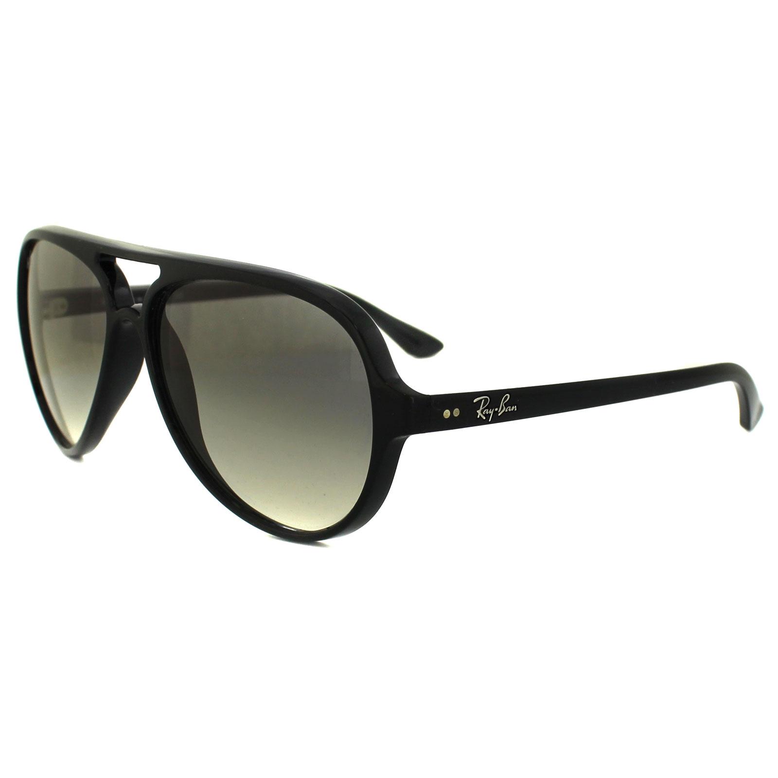 e95de5ac4a8 Ray-Ban Sunglasses Cats 5000 4125 601 32 Black Grey 805289288671