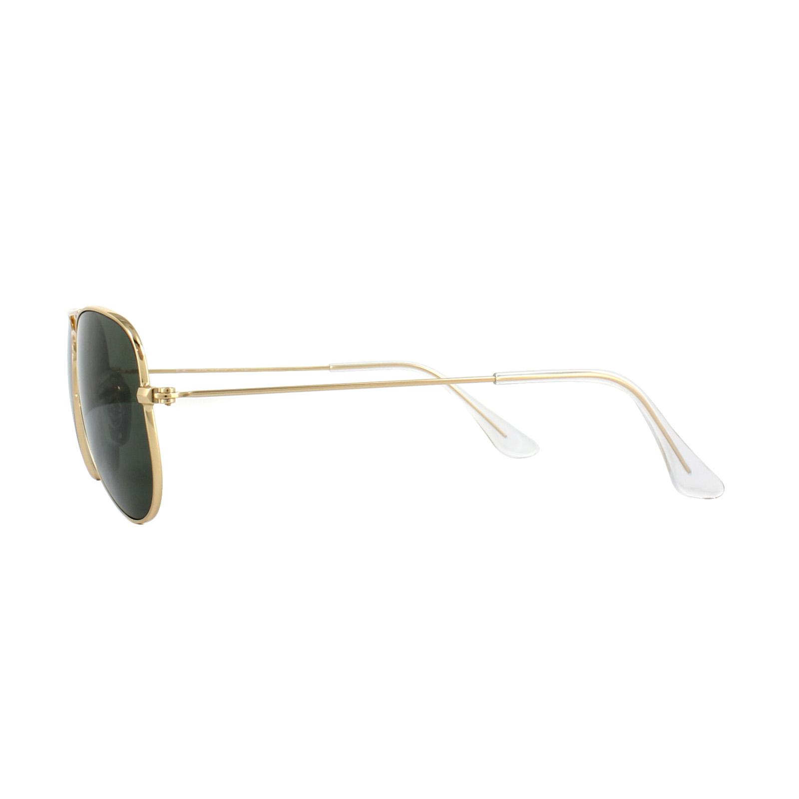 159ada8f7 ... wholesale sentinel ray ban sunglasses small aviator 3044 l0207 gold  green b729a fee5f