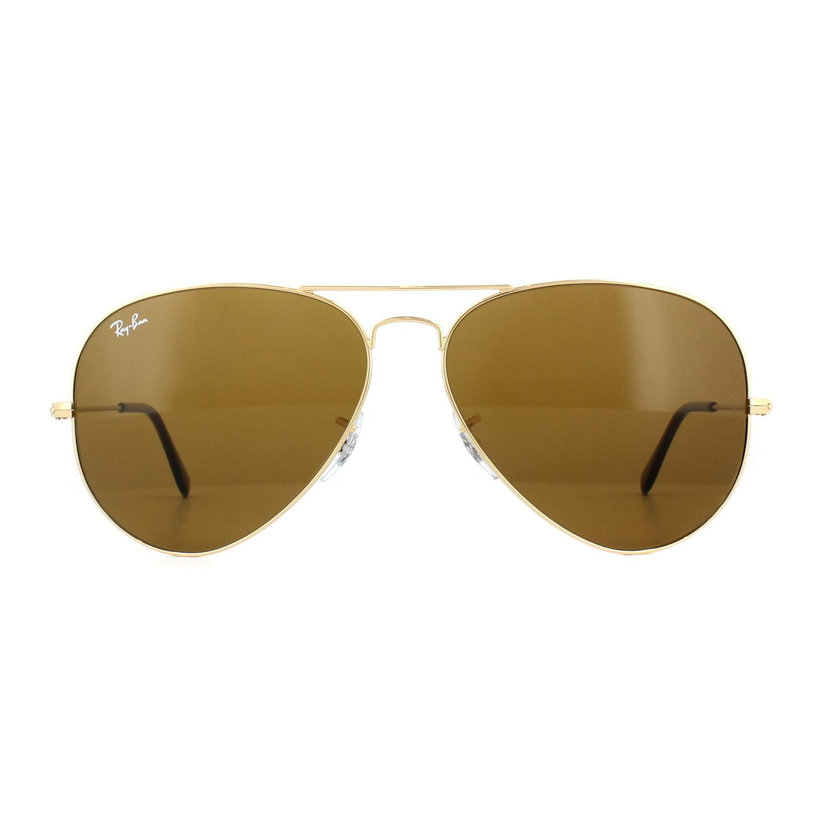 bc74b466a CENTINELA Gafas de sol de Ray-Ban Aviator 3025 001/33 oro marrón 62mm