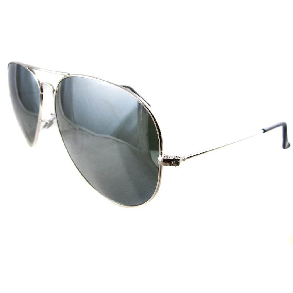 ray ban sonnenbrille aviator silber