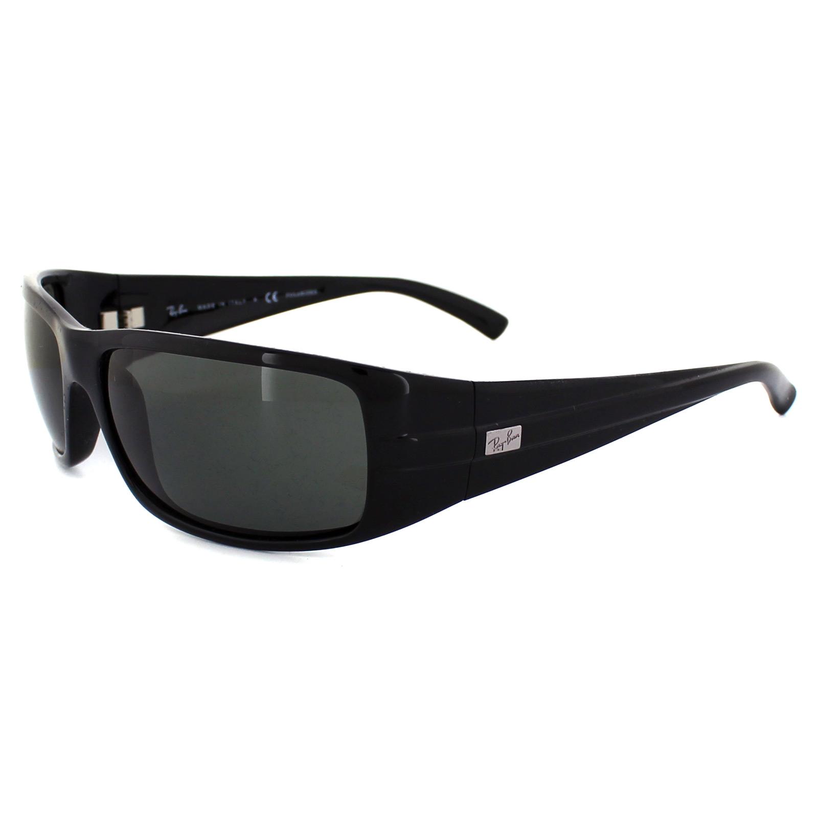 Cheap Rayban Sunglasses 4057 Black Green Polarized 601 58 Discounted Sunglasses