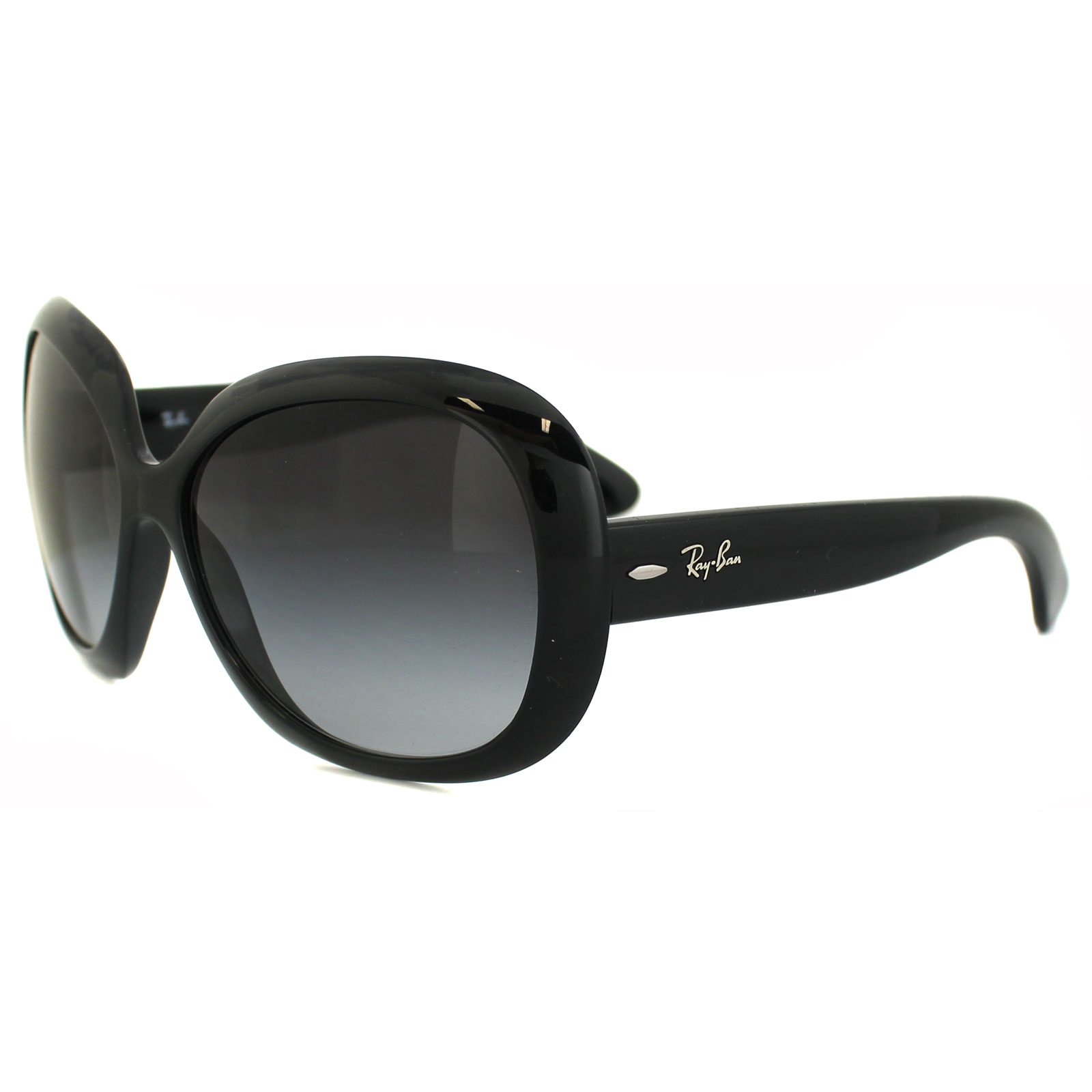 5ef6dc8fd3 Sentinel Rayban Sunglasses Jackie Ohh II 4098 Black Grey Gradient 601 8G