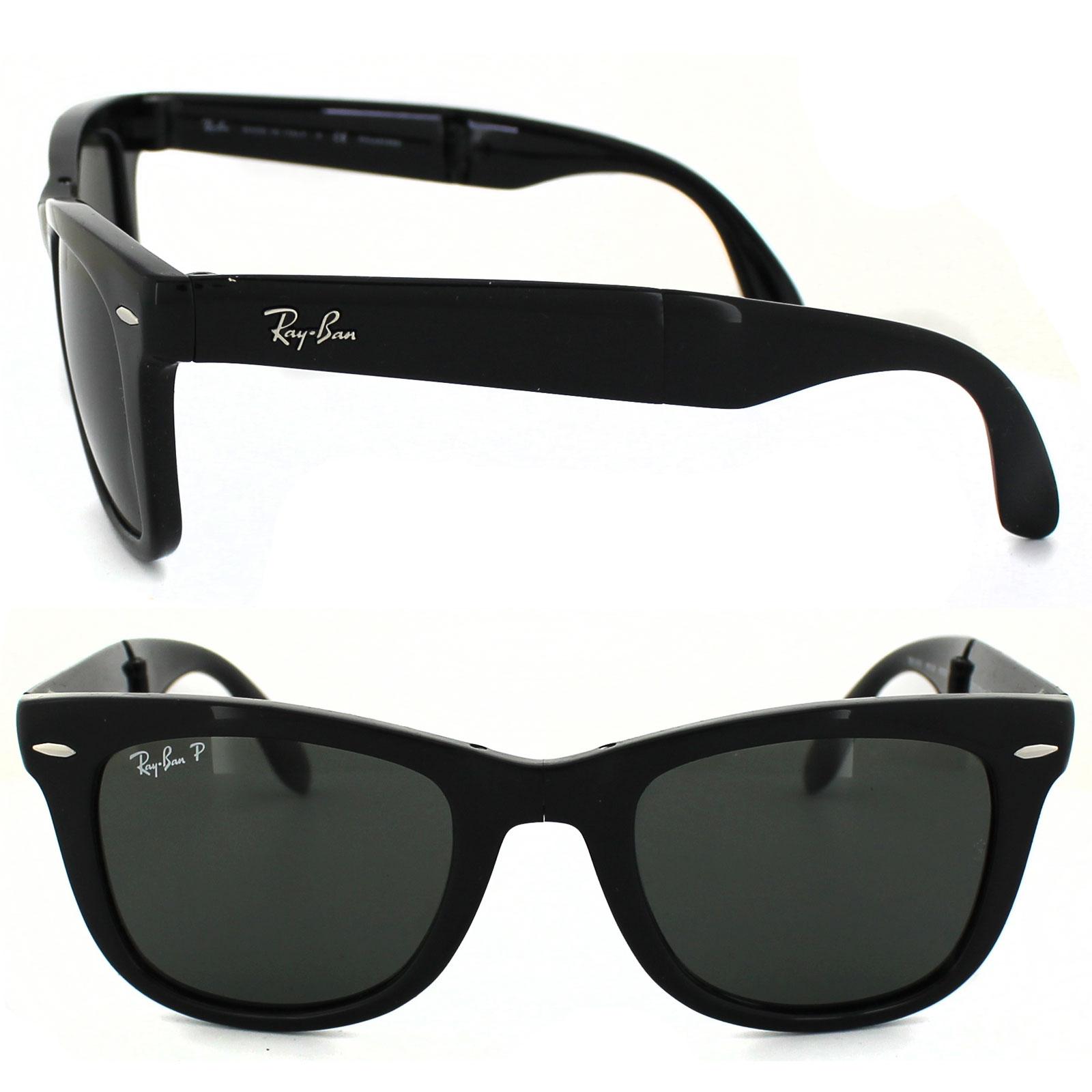 Ray-Ban Folding Sonnenbrille Schwarz 601 54mm VchjZzeR