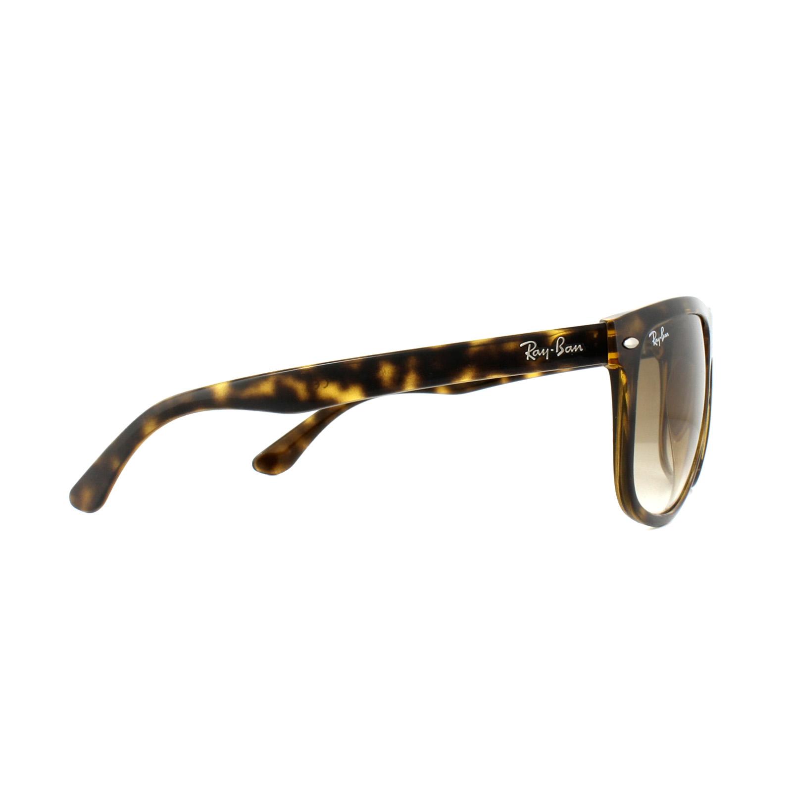 5205f69b5ec Sentinel Ray-Ban Sunglasses 4147 Light Havana Brown Gradient 710 51 Large  60mm
