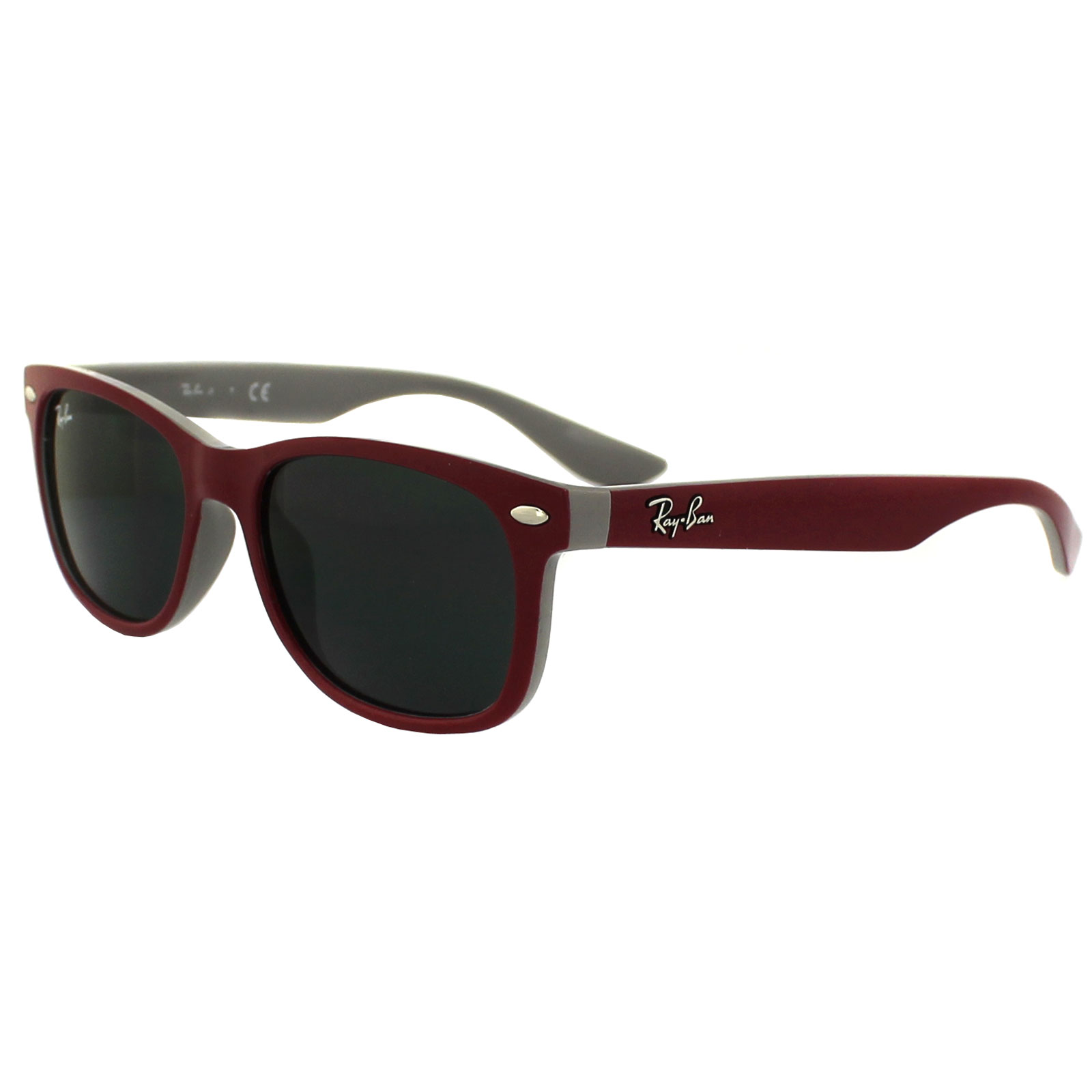 ray ban junior sonnenbrille 9052s top rot fuxia on grau. Black Bedroom Furniture Sets. Home Design Ideas