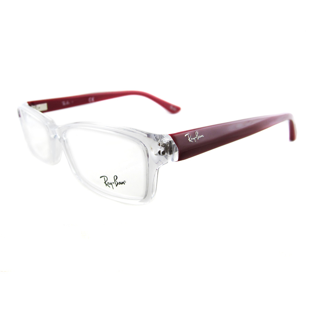 Ray-Ban Glasses Frames 5224 5027 Transparent 53mm | eBay