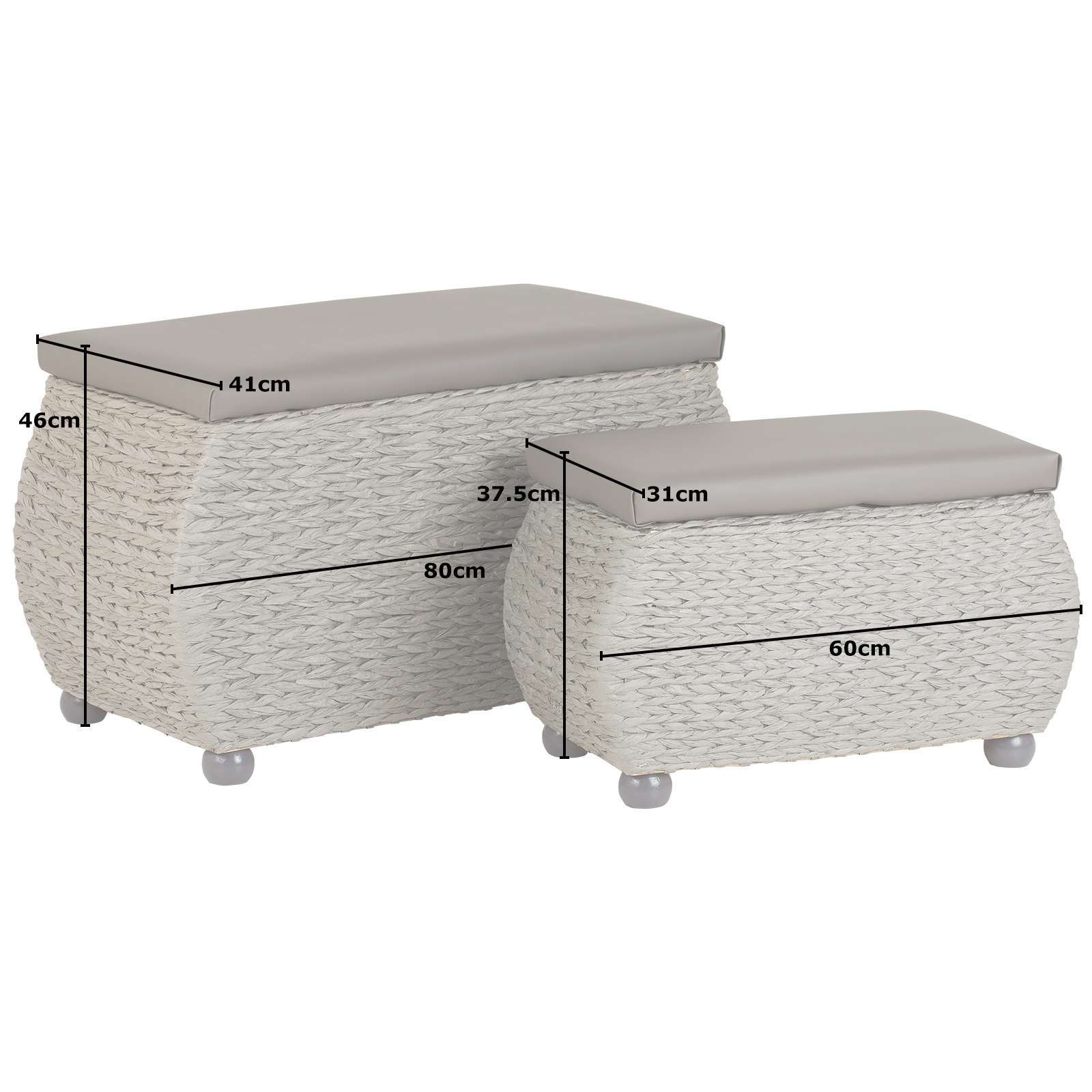Astonishing Details About Hartleys Twin Storage Trunk Stool Bedding Blanket Rattan Wicker Box Bench Seat Pdpeps Interior Chair Design Pdpepsorg