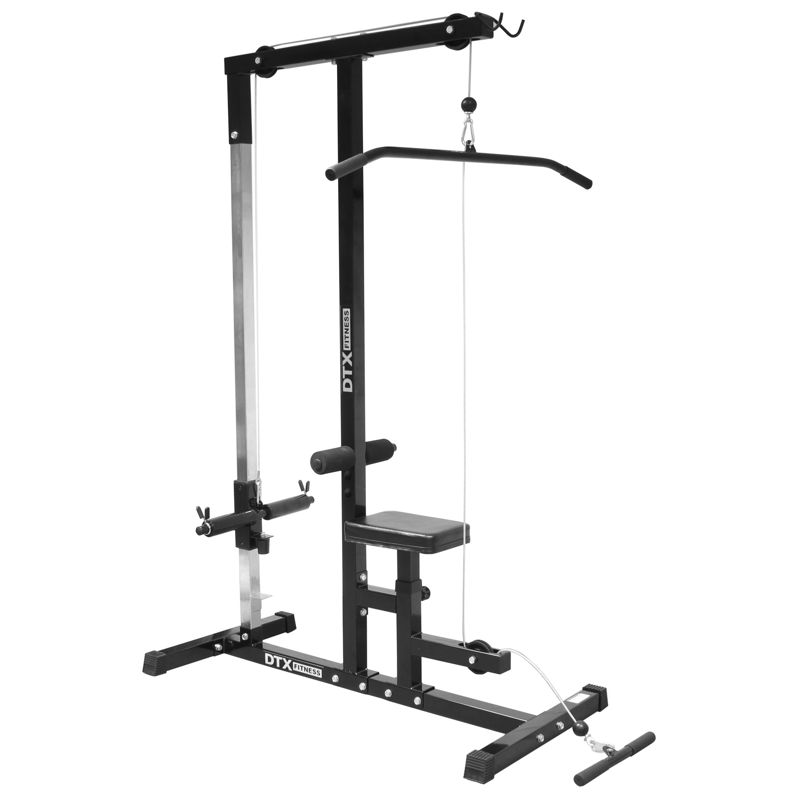 Dtx Fitness Home Multi Gym Cable Lat Pull Down Workstation