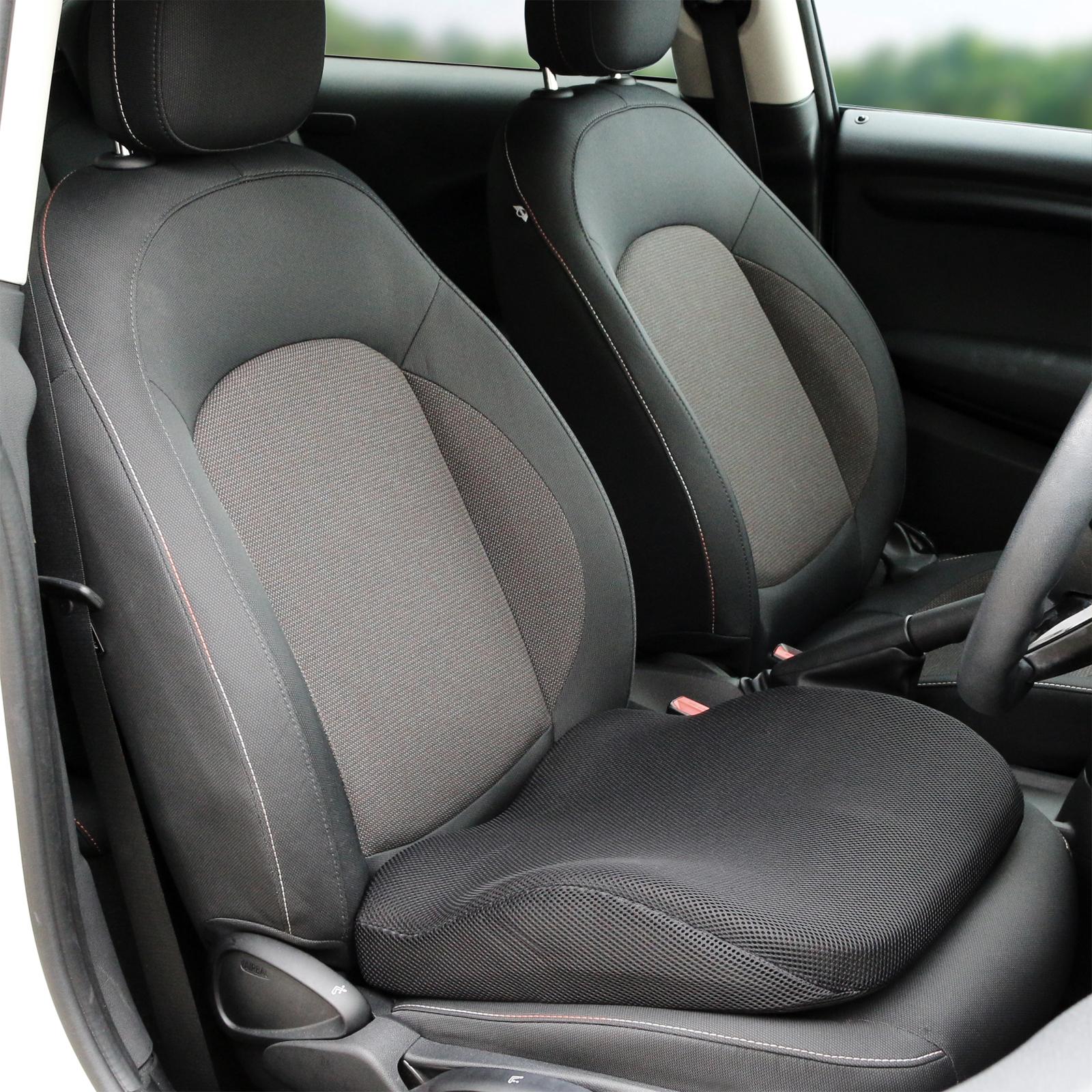 Black Memory Foam Lower Seat Base Posture Support Seat Cushion Car