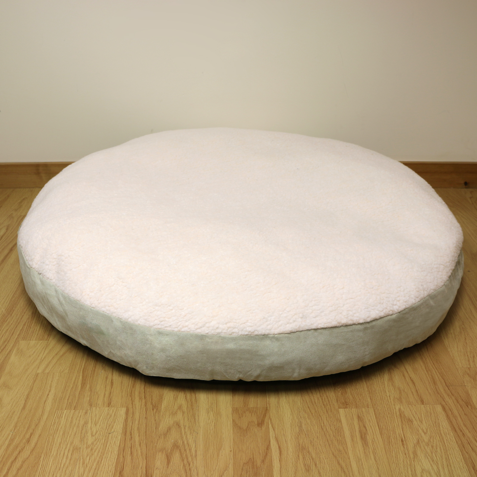 XXL Extra Large Circular Fleece Dog Pet Bed/Round/Cushion/Pillow/Soft/Cosy 102cm eBay