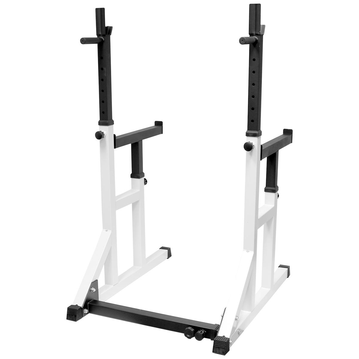 Hardcastle Semi Pro Adjustable Gym Squat Frame Rack Amp Dip