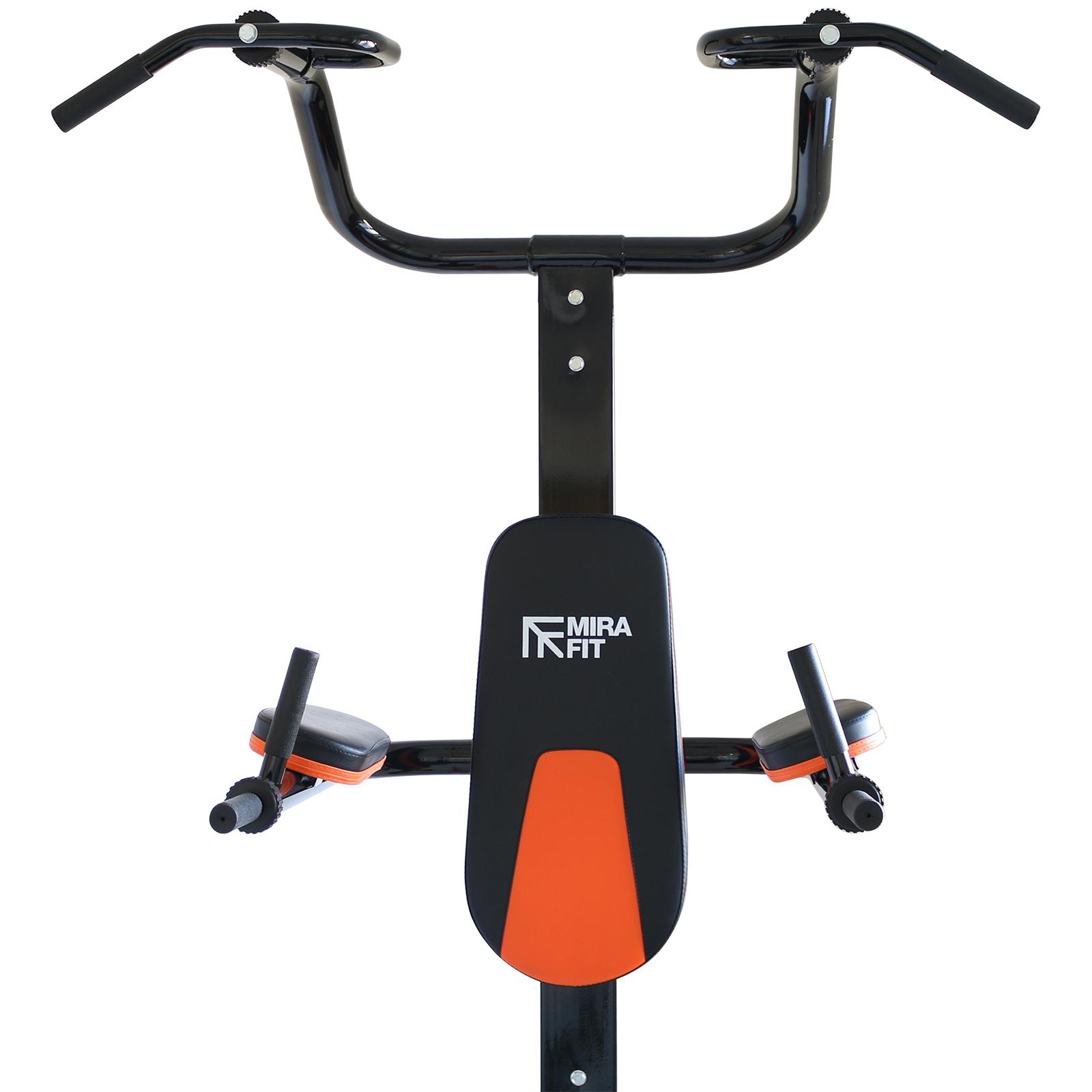 mirafit gym power tower push sit pull up bar vkr dip multi. Black Bedroom Furniture Sets. Home Design Ideas