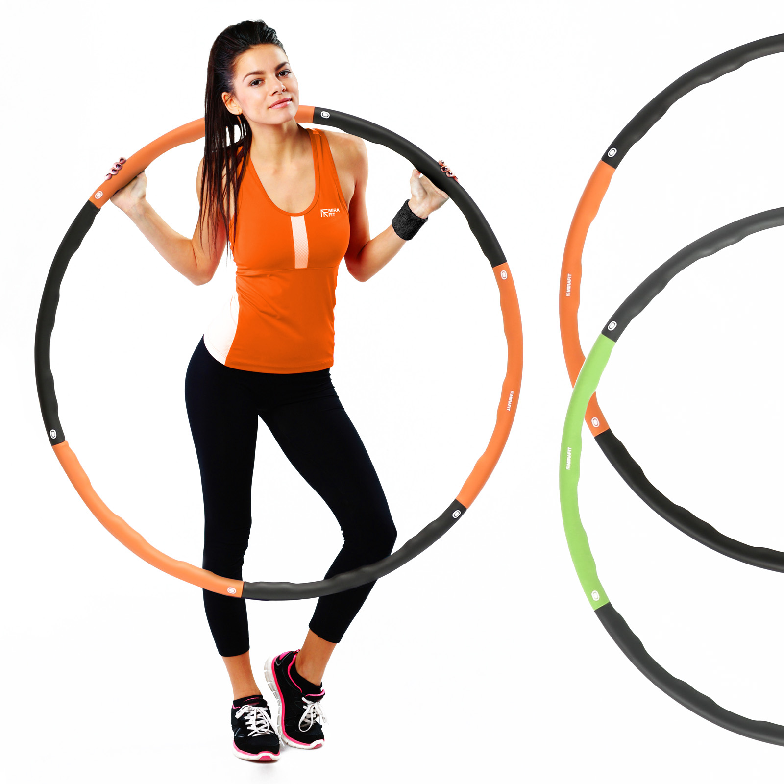 Sporting Goods Foam Hula Hoop Exercise Fitness Workout Ring Hula Massager Abdominal Exerciser