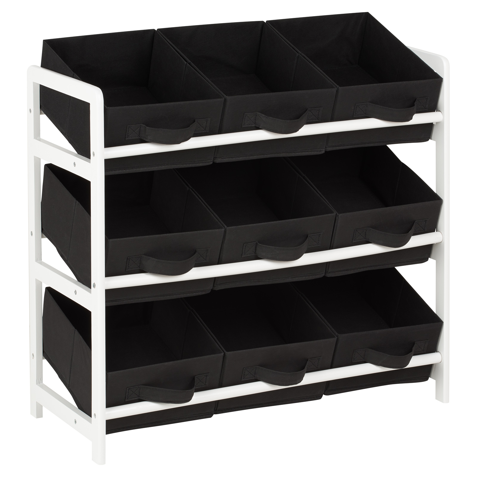 Details About Hartleys 3 Tier Storage Shelf Unit Kids Childrens Bedroom Bo Drawers Tox Box