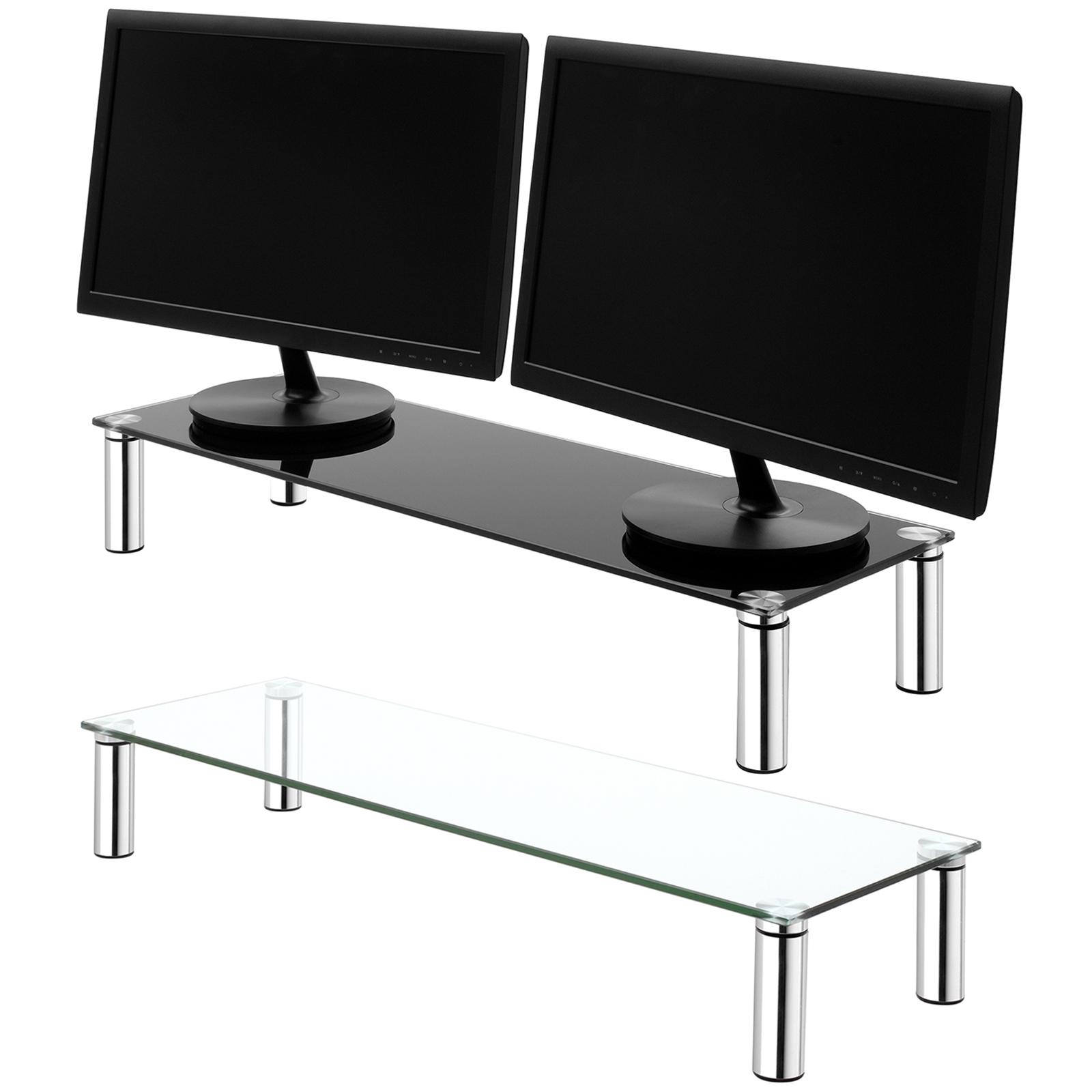Grand Double Moniteur//écran de montage Tube étagère Ordinateur//iMac TV Stand PS4//Xbox