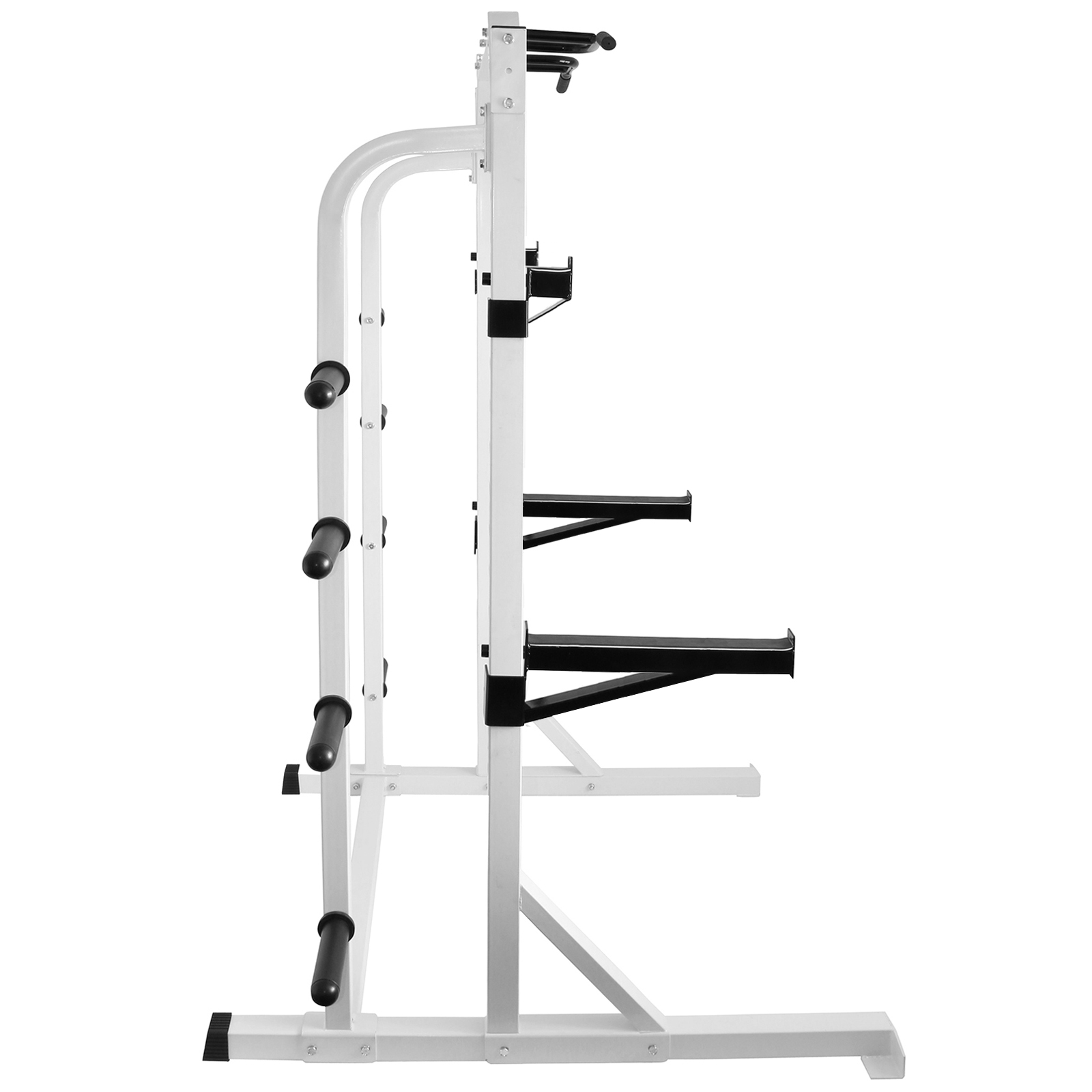 Hd White Olympic Power Cage Squat Amp Weight Rack Home Multi