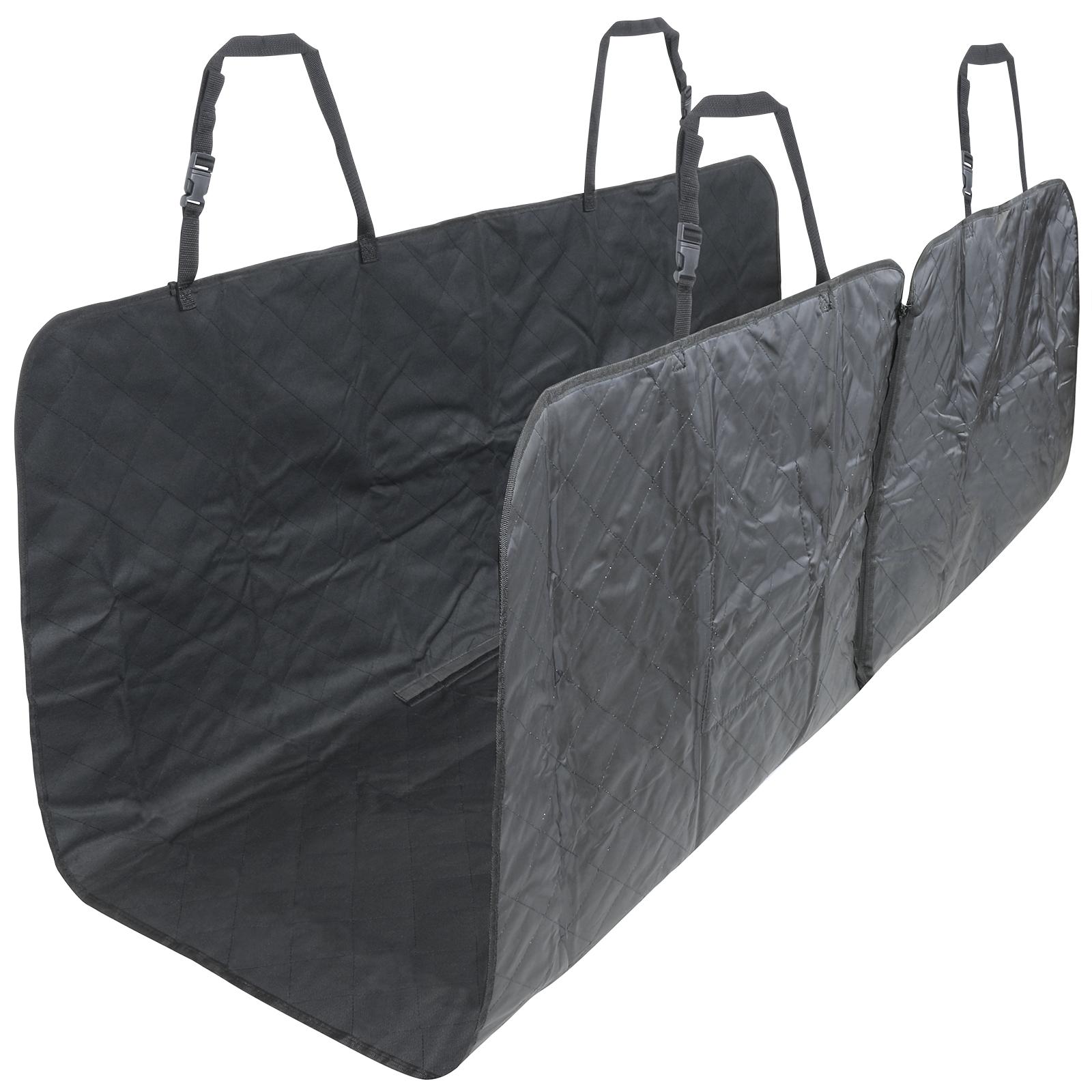 me my pets auto r cksitz schutzdecke schondecke haustiere hunde stepp schwarz ebay. Black Bedroom Furniture Sets. Home Design Ideas