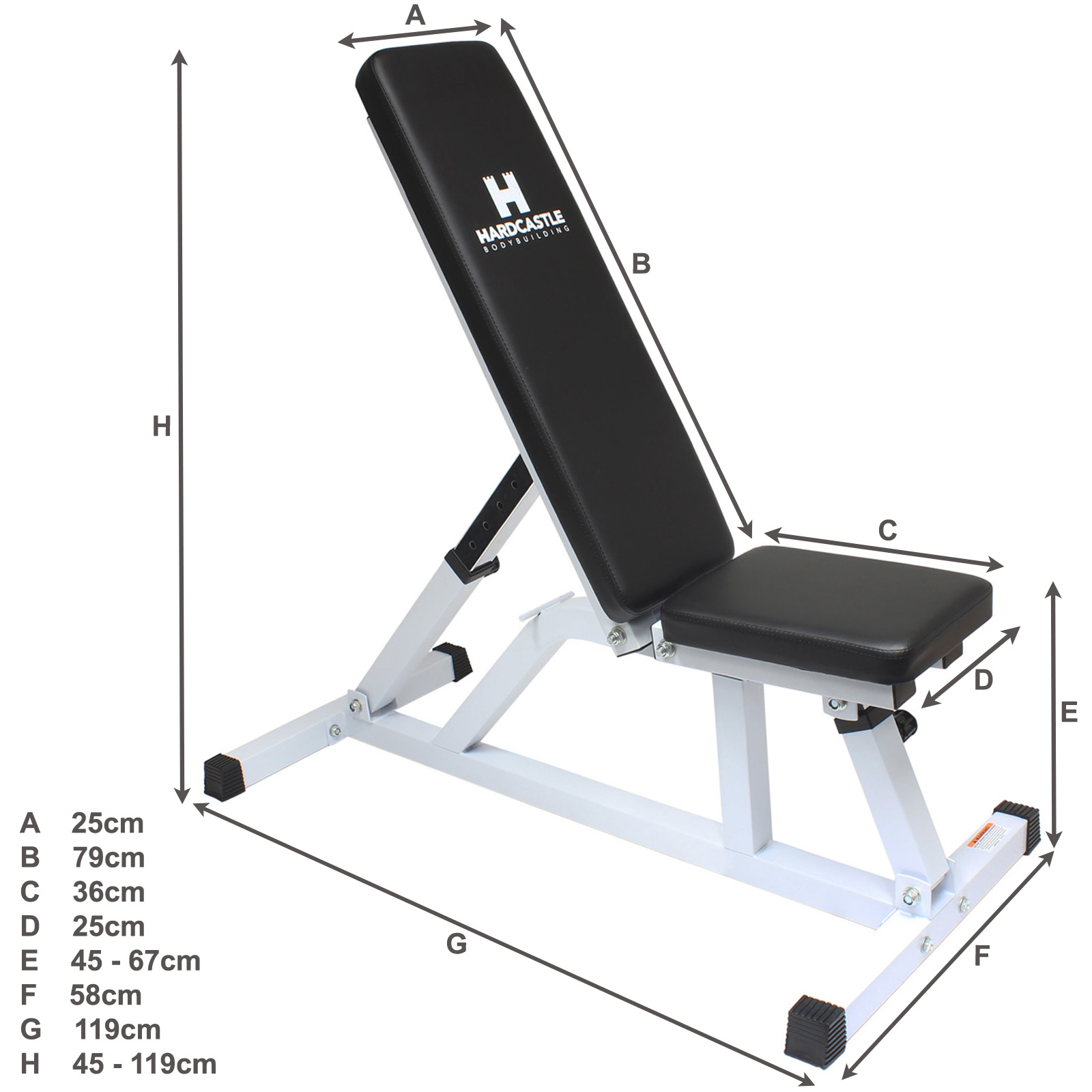 Adjustable Weight Bench Amp Heavy Duty Squat Frame Rack