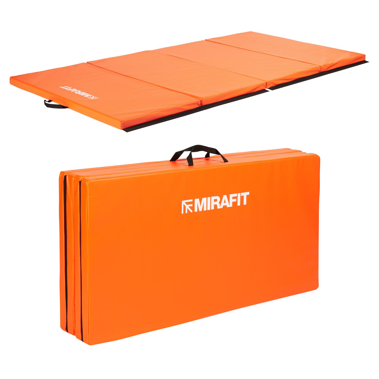 Mirafit Grande Tapis De Sol Exercice Fitness Pilates Yoga Pliable