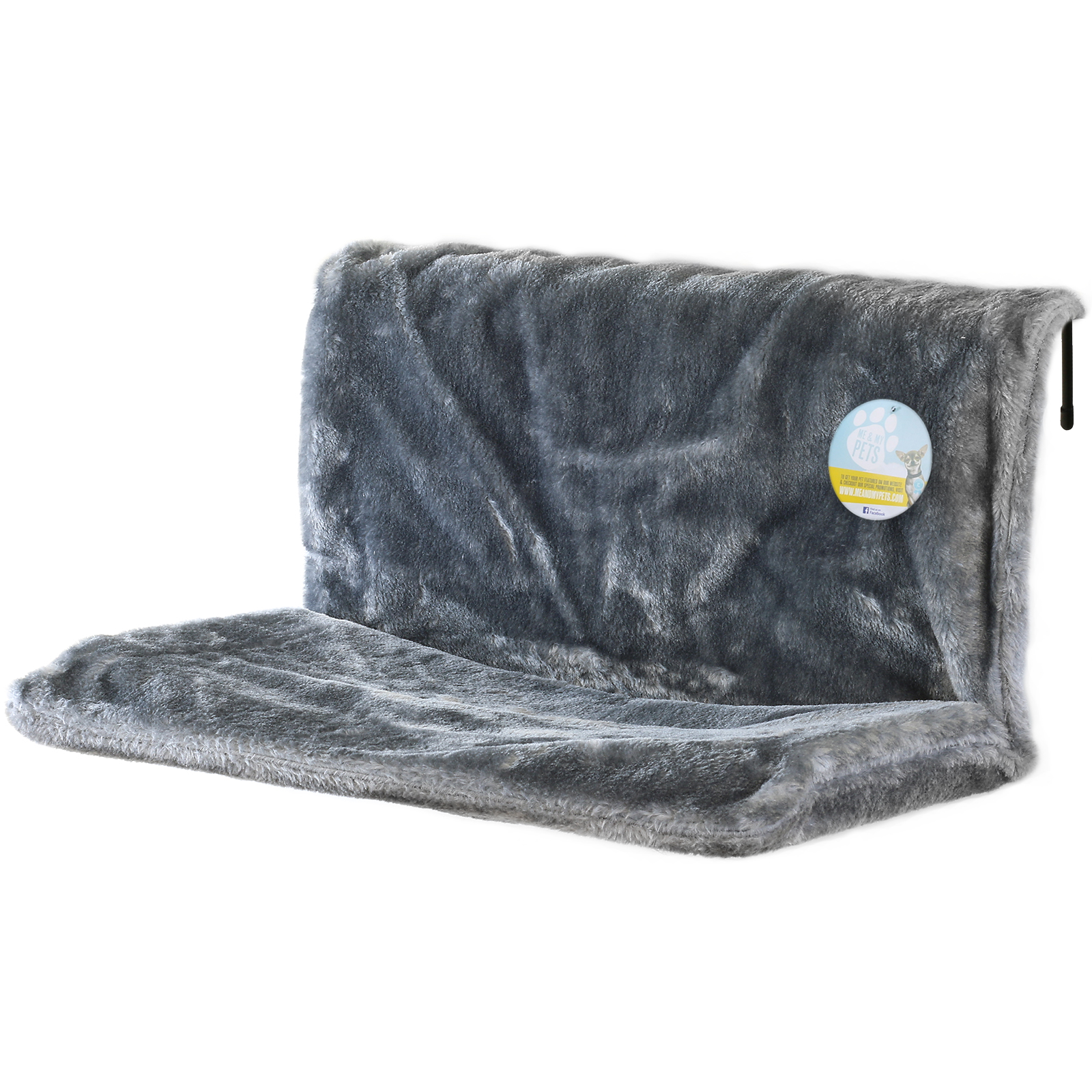 Me Amp My Grey Cat Radiator Snug Bed Warm Fleece Basket