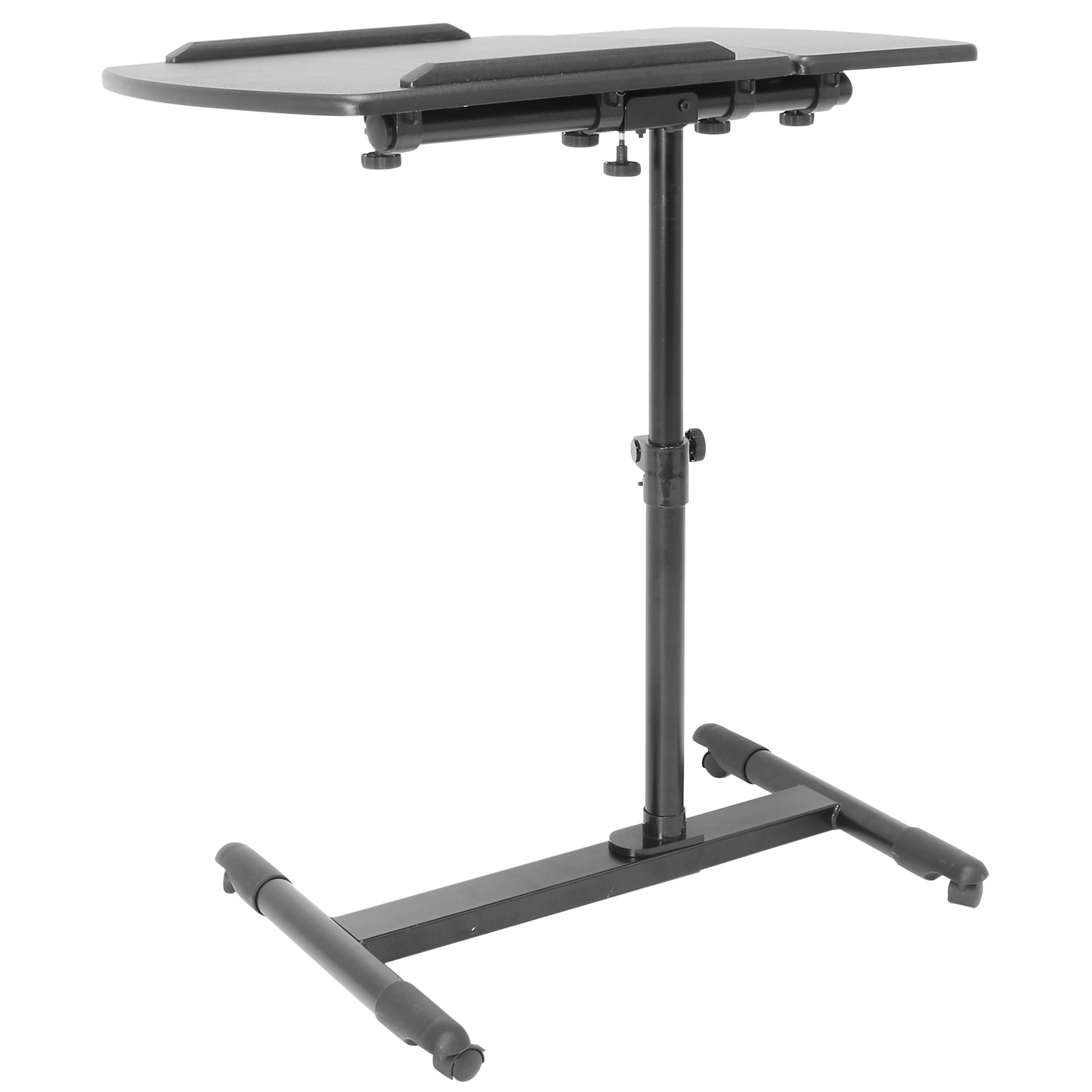 Hartleys Black Twin Section Portable Laptop Notebook Table