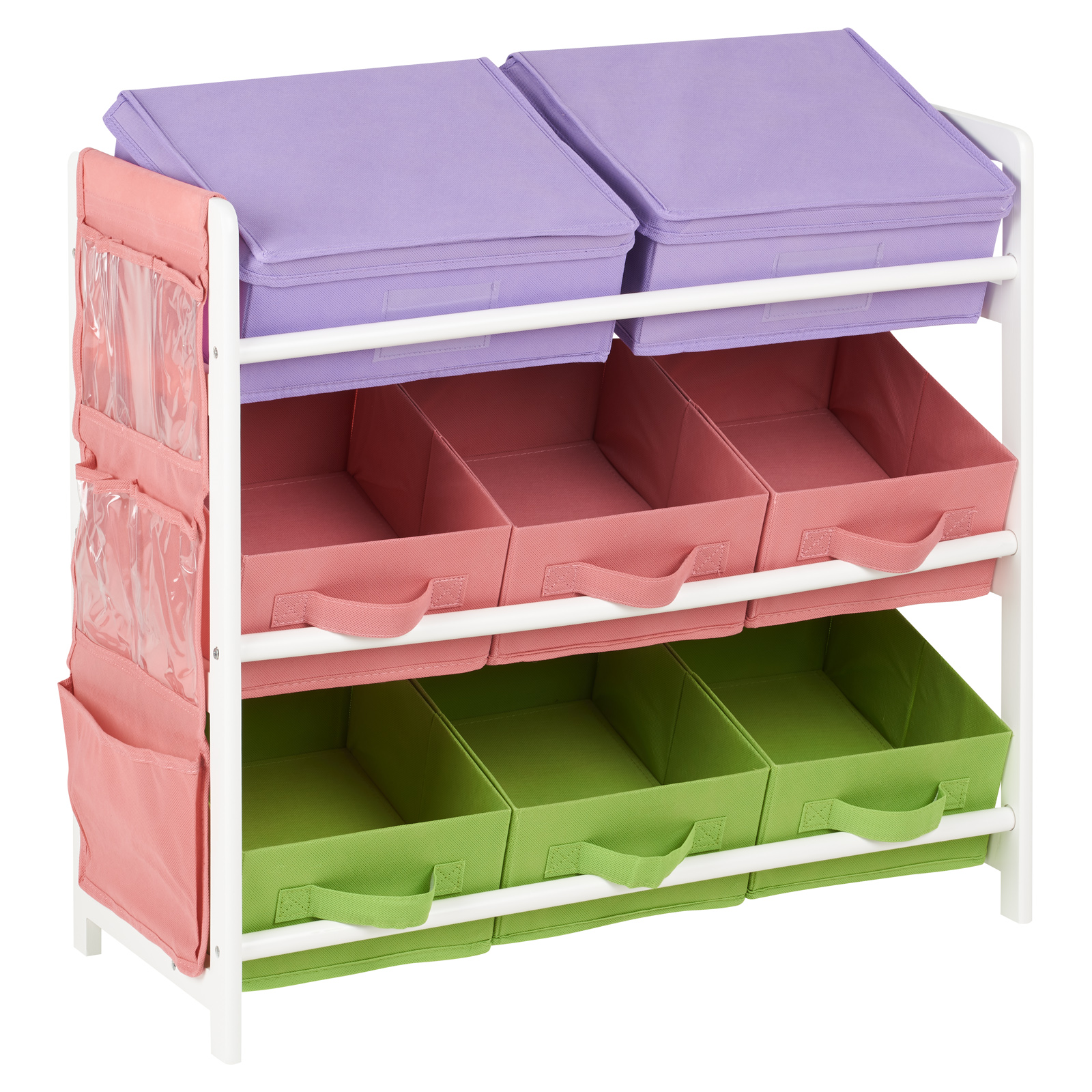 Details about Hartleys Childrens Bedroom Fun Shelf Drawers Kids Toy/Book  Storage Box Furniture