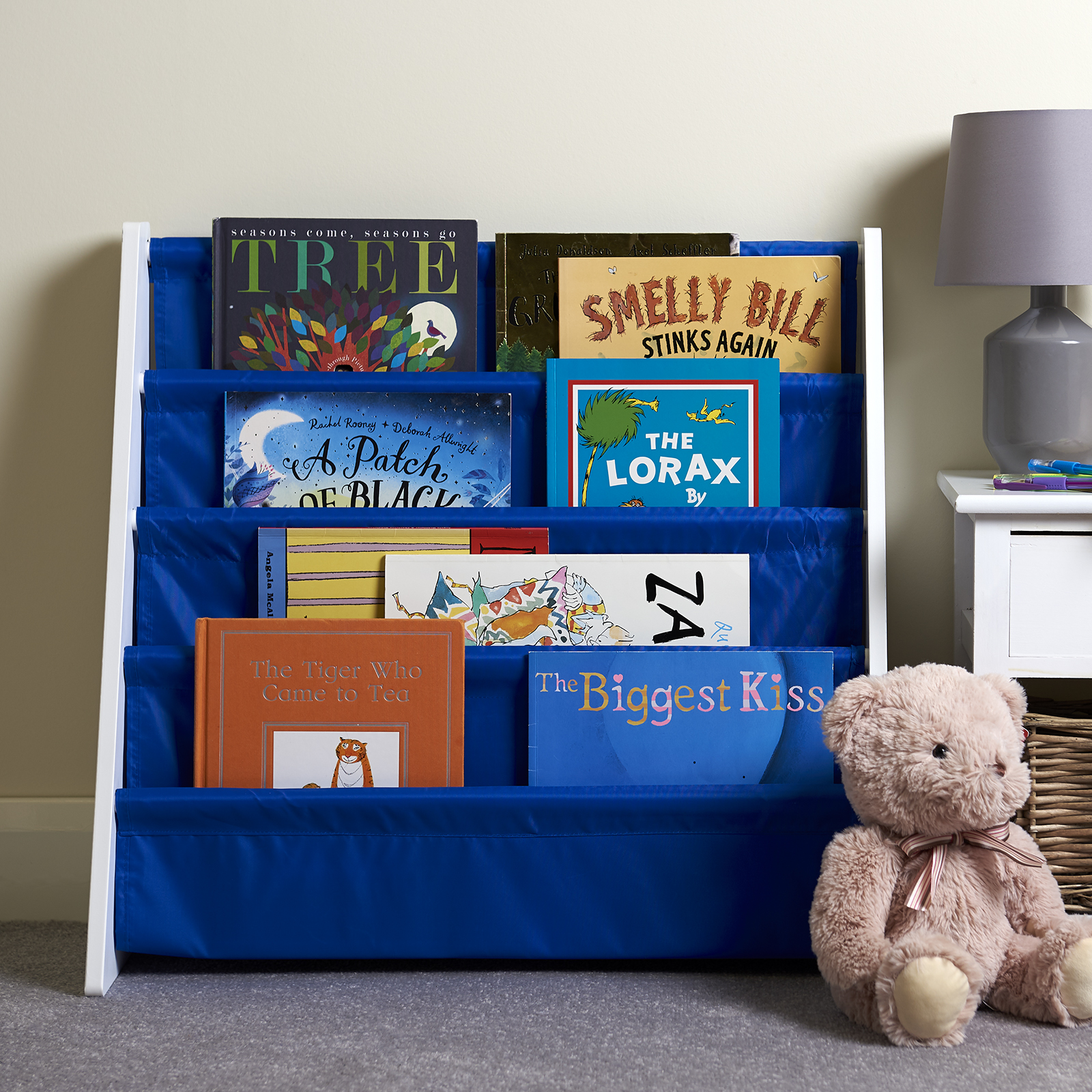Hartleys-Childrens-Book-Shelf-Kids-Bedroom-Play-room-Storage-Bookcase-Rack-Tidy thumbnail 10