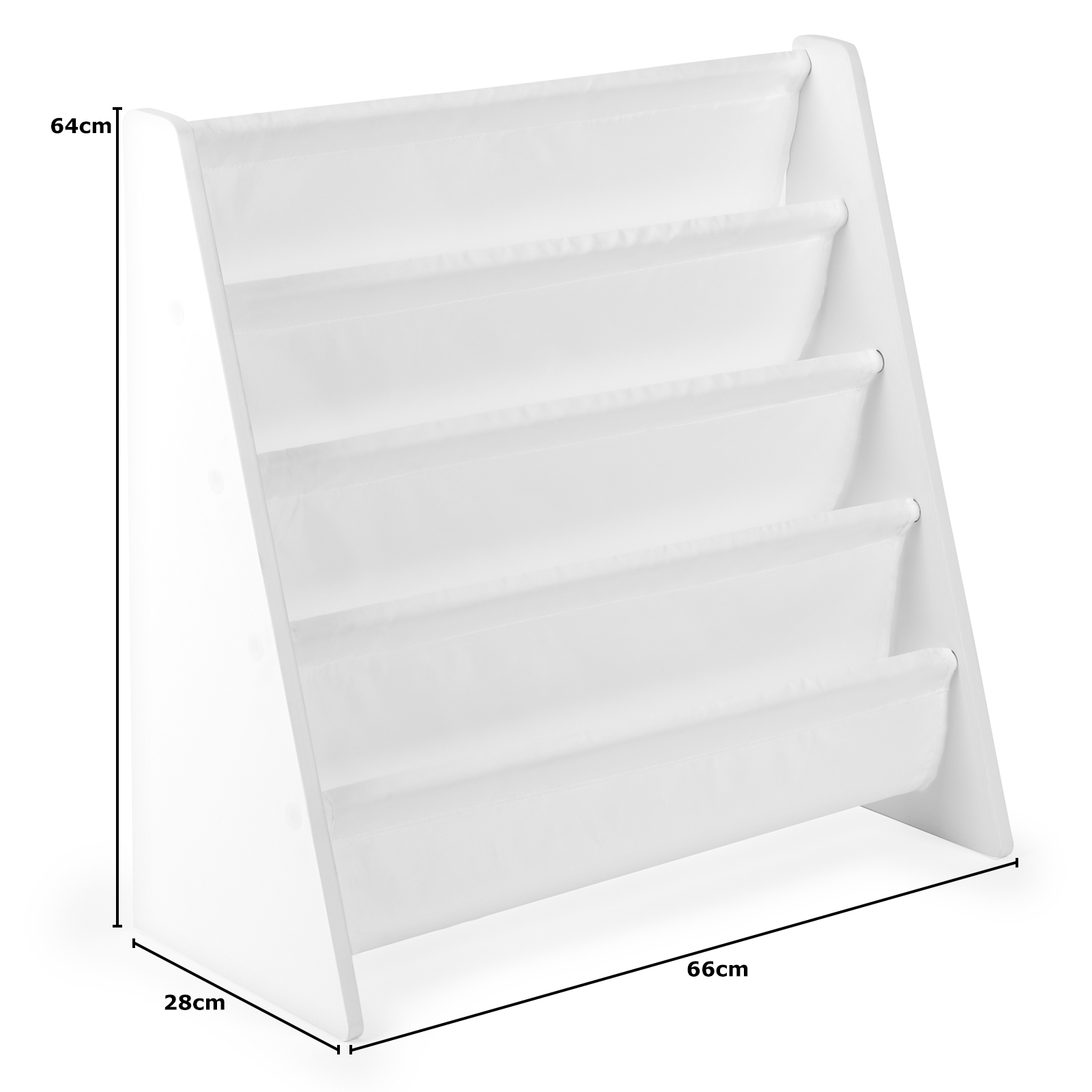 Hartleys-Childrens-Book-Shelf-Kids-Bedroom-Play-room-Storage-Bookcase-Rack-Tidy thumbnail 12