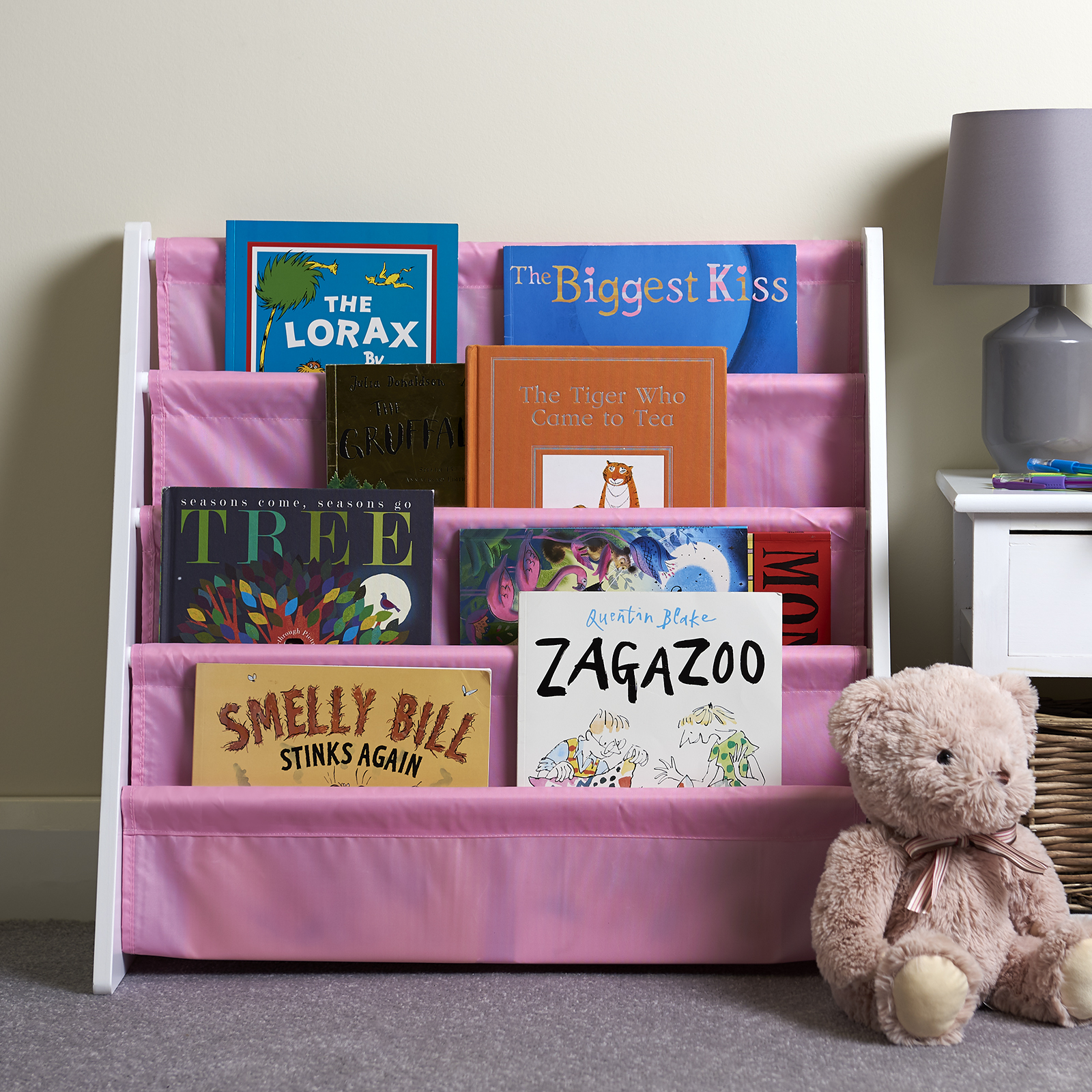 Hartleys-Childrens-Book-Shelf-Kids-Bedroom-Play-room-Storage-Bookcase-Rack-Tidy thumbnail 14