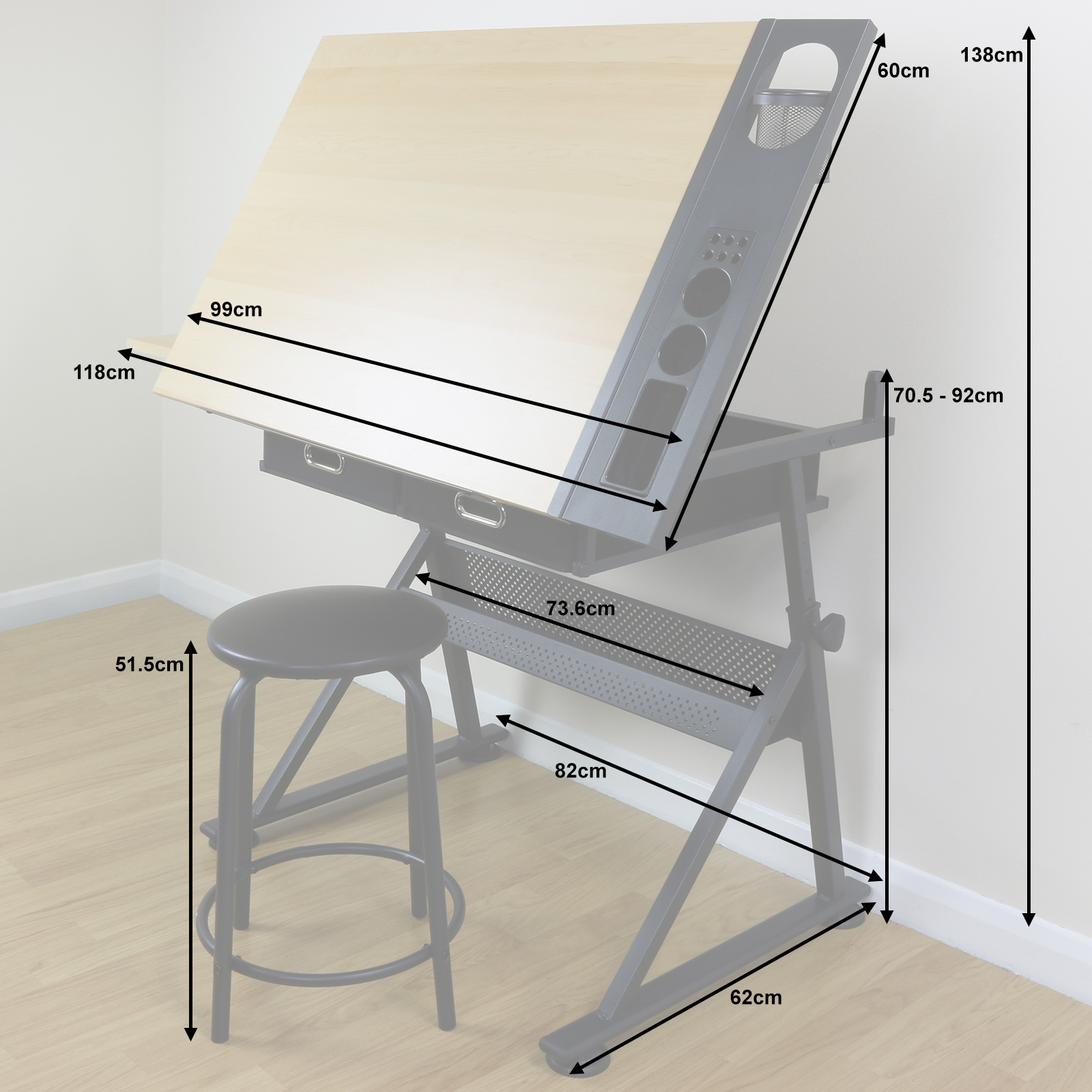 architect office supplies. Sentinel Adjustable Drawing Board Drafting Table With Stool Craft Architect Desk Stand Office Supplies