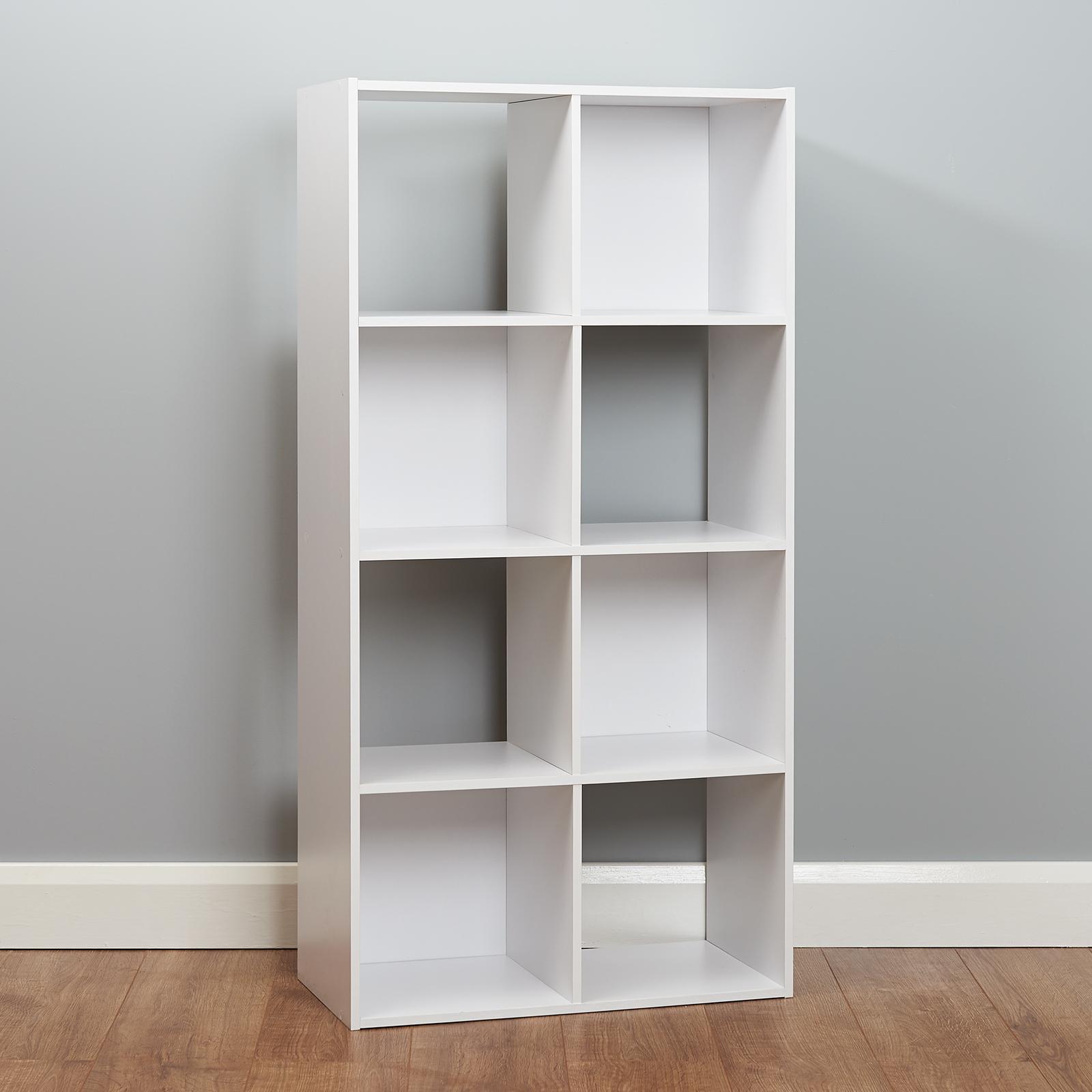 6 Cube Kids White Toy Games Storage Unit Girls Boys Childs: White 8 Cube Storage Unit Kids/Childrens Bedroom Shelves
