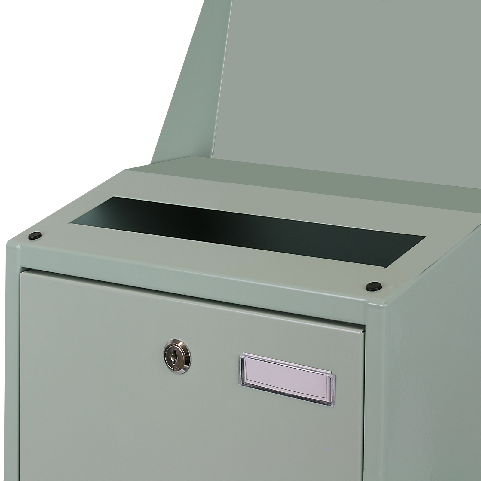 Einzigartig Hardcastle Briefkasten aus Stahl zur Wandbefestigung, Extra Groß  OK23