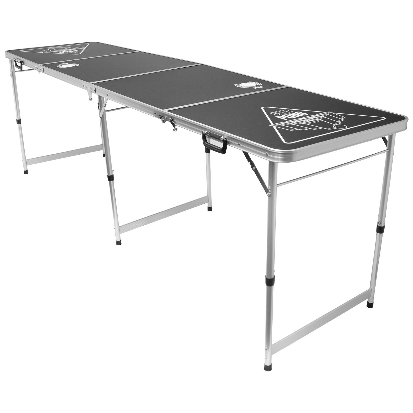 Hartleys Bier-Pong Tisch Klappbar Offizielle Größe 2,4m Trinkspiel Beer Pong