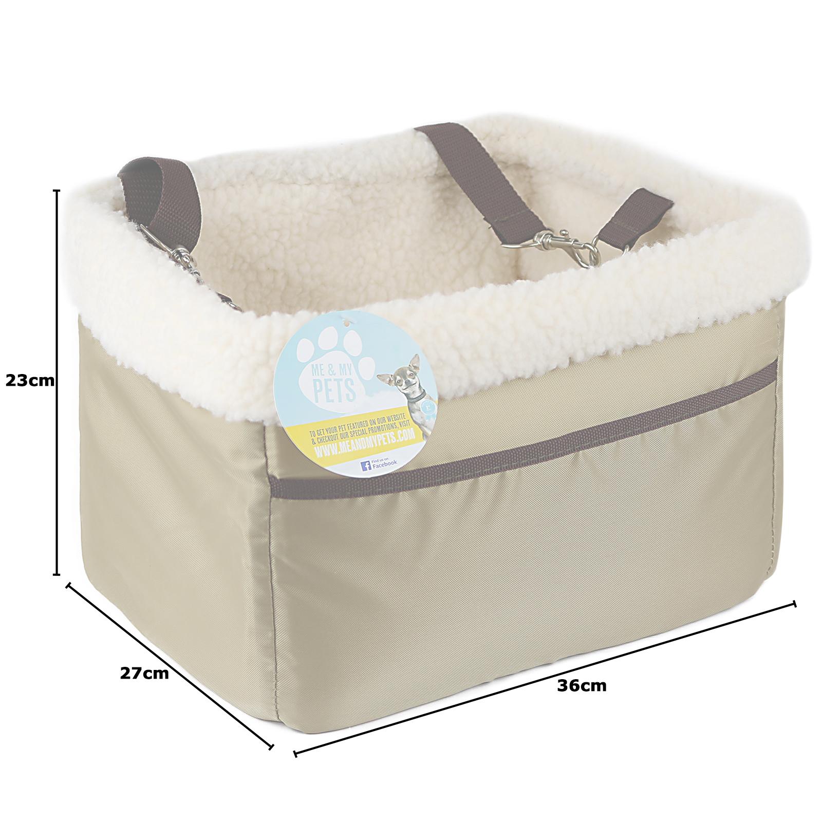 me my pets autositz transport tasche korb kissen f r. Black Bedroom Furniture Sets. Home Design Ideas
