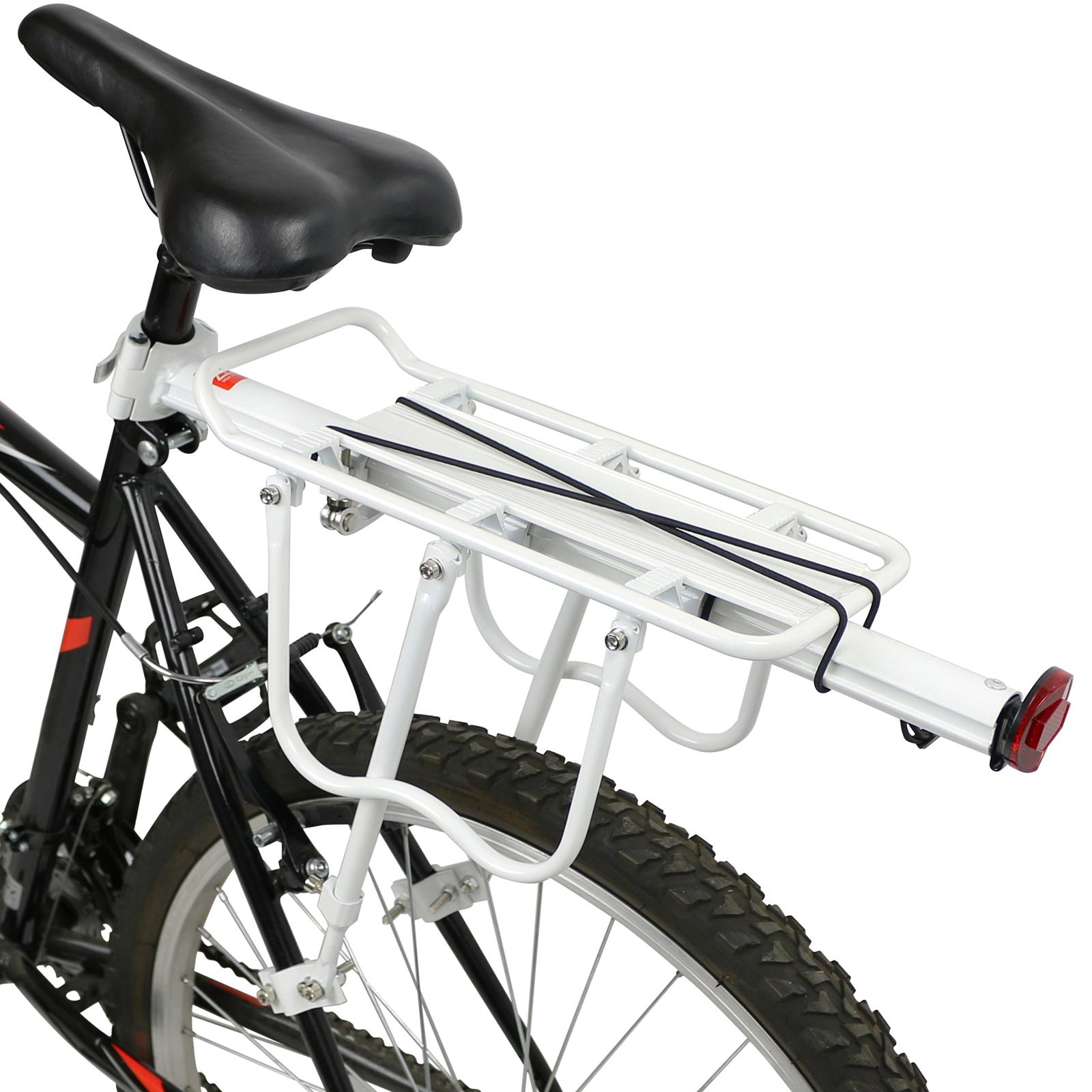 pedalpro einstellbarer fahrrad gep cktr ger hinten wei mit reflektor bis 25kg ebay. Black Bedroom Furniture Sets. Home Design Ideas
