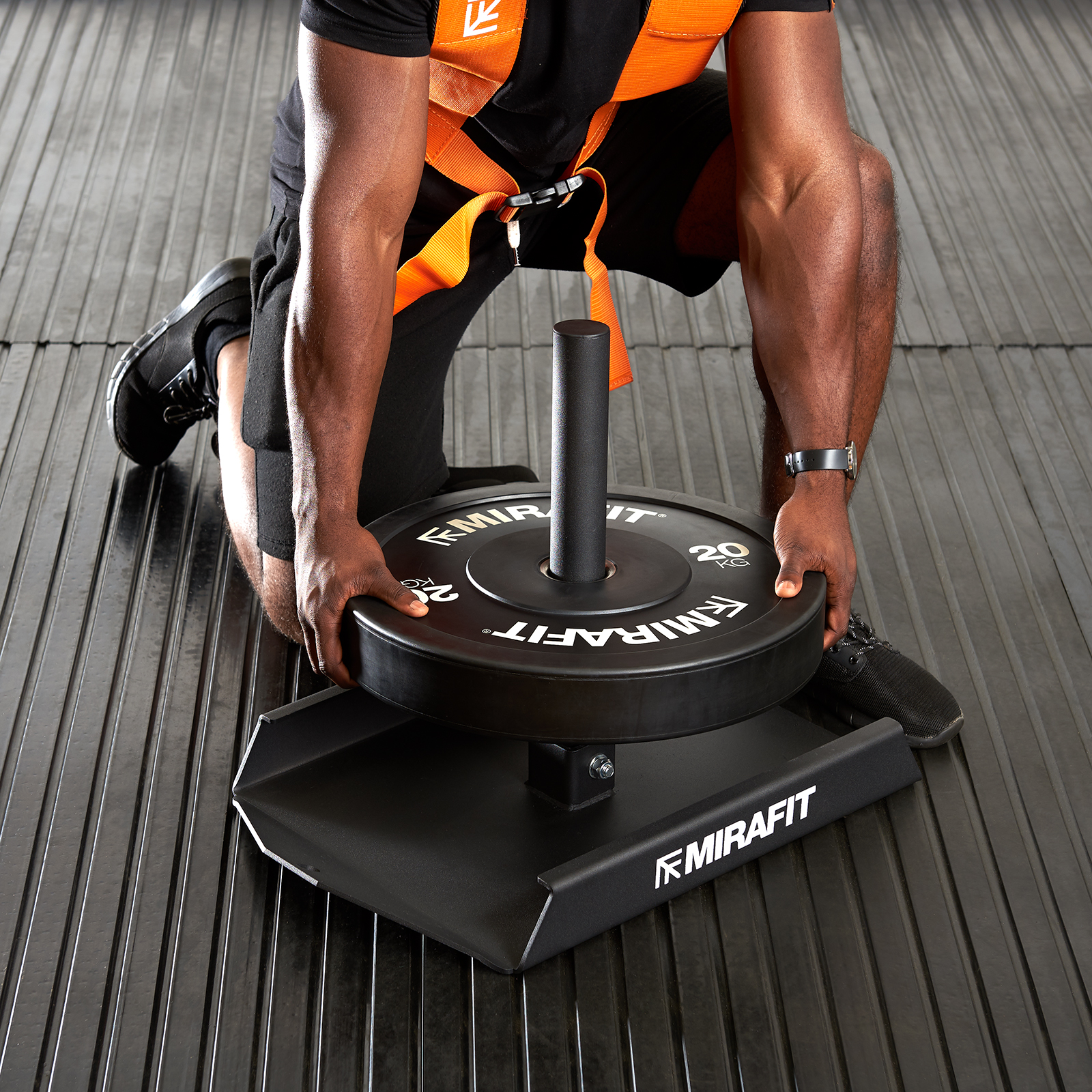 Mirafit M1 Weight Sled Harness Power/Speed/Drag Strength ...