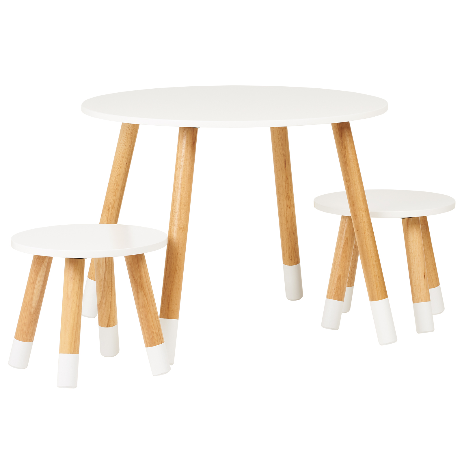 Terrific Details About Hartleys Kids White Round Wooden Table 2 Chairs Set Childrens Bedroom Playroom Interior Design Ideas Jittwwsoteloinfo