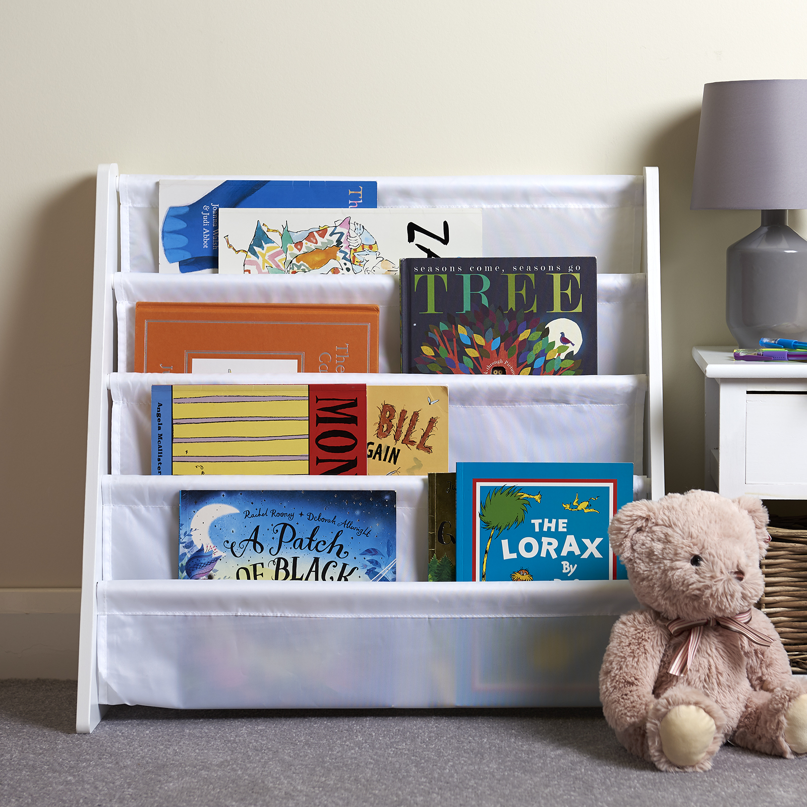 Hartleys-Childrens-Book-Shelf-Kids-Bedroom-Play-room-Storage-Bookcase-Rack-Tidy thumbnail 18