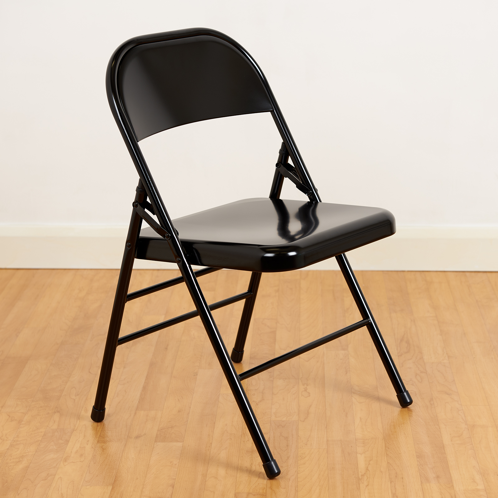 Chairs Home Furniture Diy Black Metal Folding Chairs Pair Set Of 2 Fold Up Design Industrial Office Seat Mekongcounsel Vn
