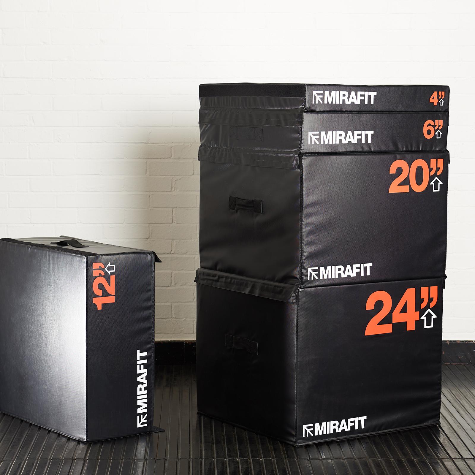 Mirafit Soft Foam Stackable Plyo Plyometric Jump Squat Box