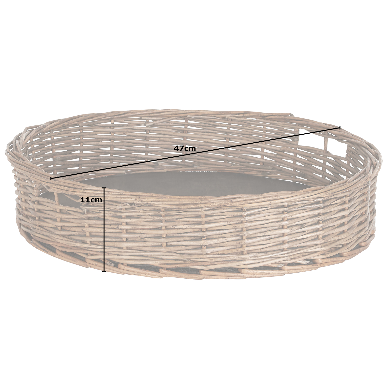 Hartleys-Round-Wicker-Serving-Tray-Decorative-Wooden-Platter-Coffee-Table-Decor thumbnail 22