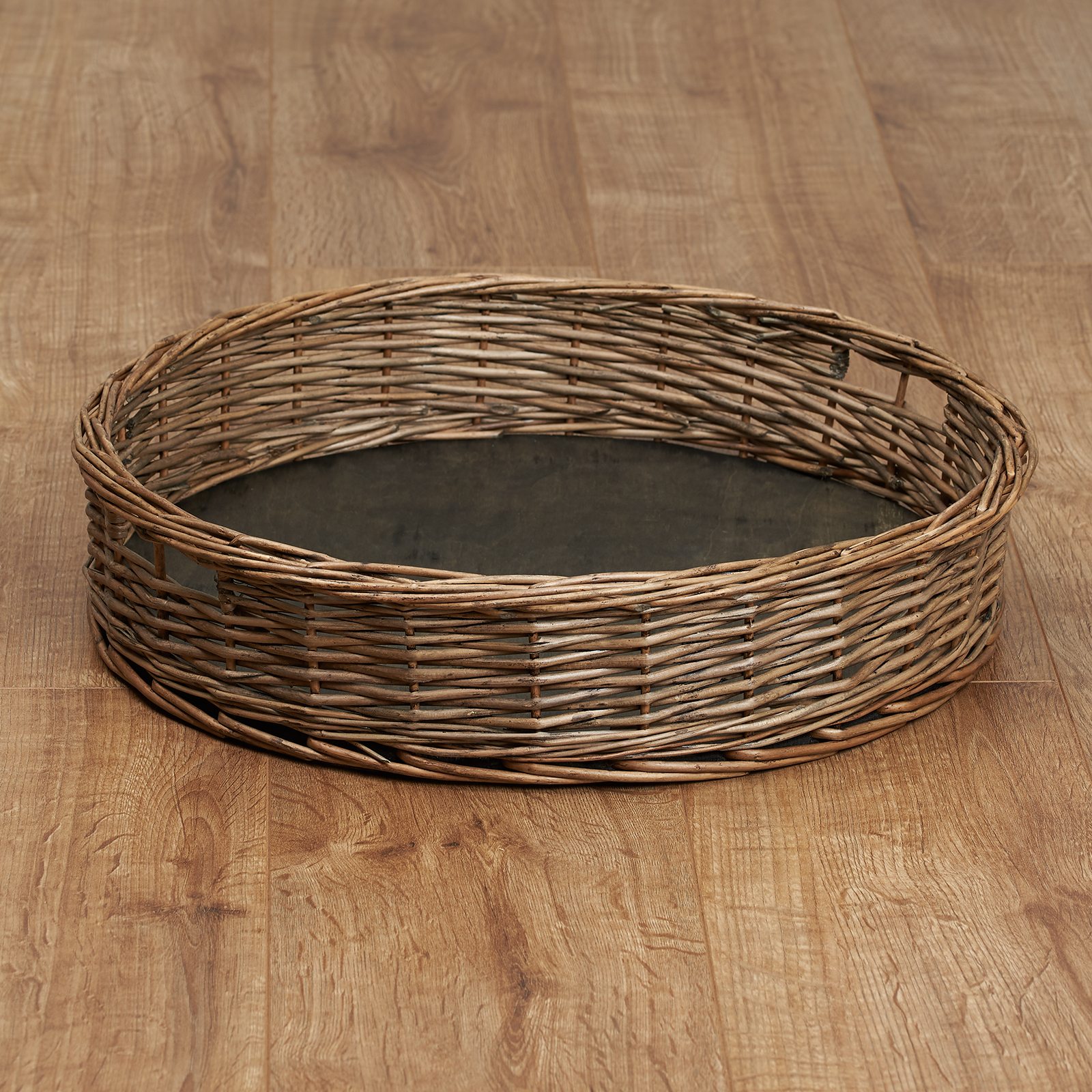 Hartleys-Round-Wicker-Serving-Tray-Decorative-Wooden-Platter-Coffee-Table-Decor thumbnail 21
