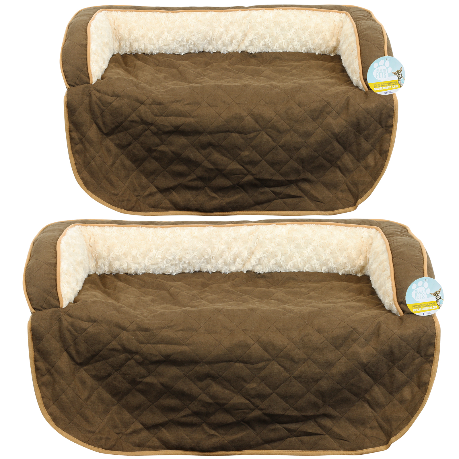 me my pets lit prot ge canap matelass marron chien. Black Bedroom Furniture Sets. Home Design Ideas