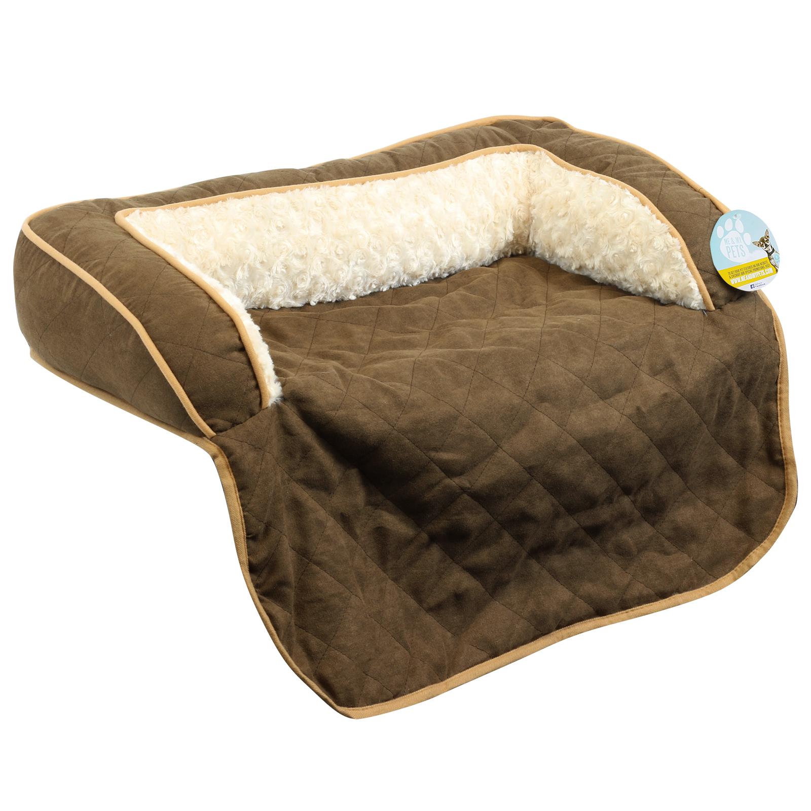Protege Canape Pour Chat détails sur me & my pets lit protège canapé matelassé marron chien/chat –  choix de tailles