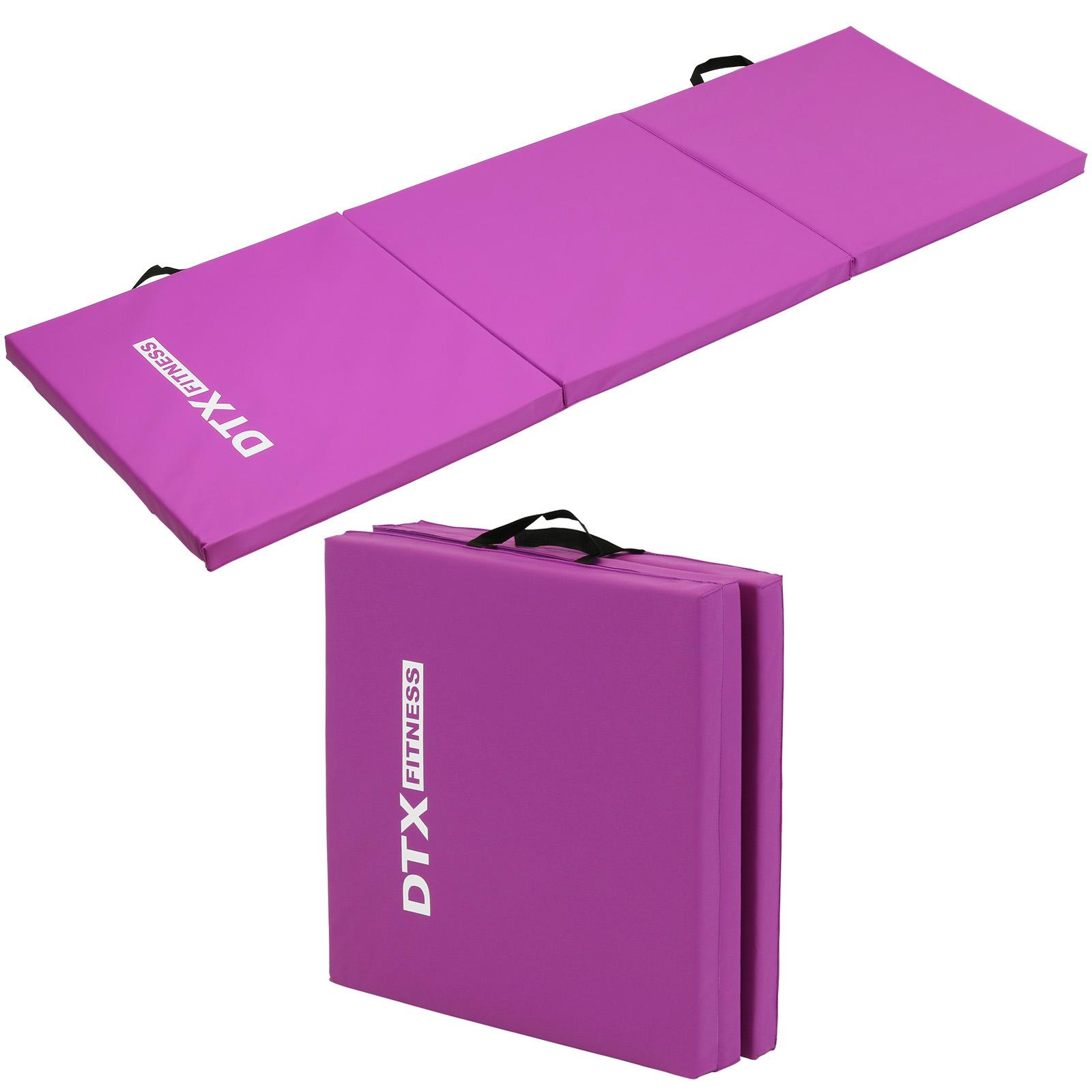 Dtx Fitness Tapis De Sol Fitness Yoga Exercice Pilates Gym Epais