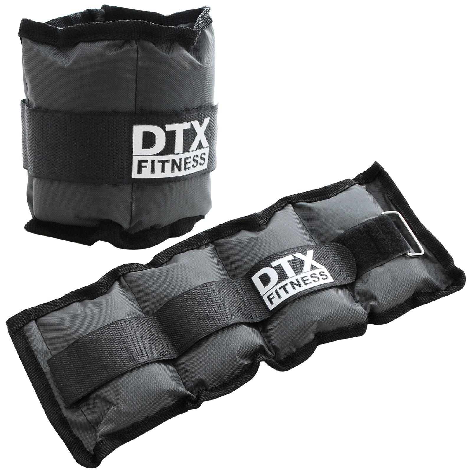 très convoité gamme de frais frais le magasin Détails sur DTX Fitness Leste Poids Bracelet Lesté Poignet/Cheville Fitness  0,5/1/2/3/4/5 kg