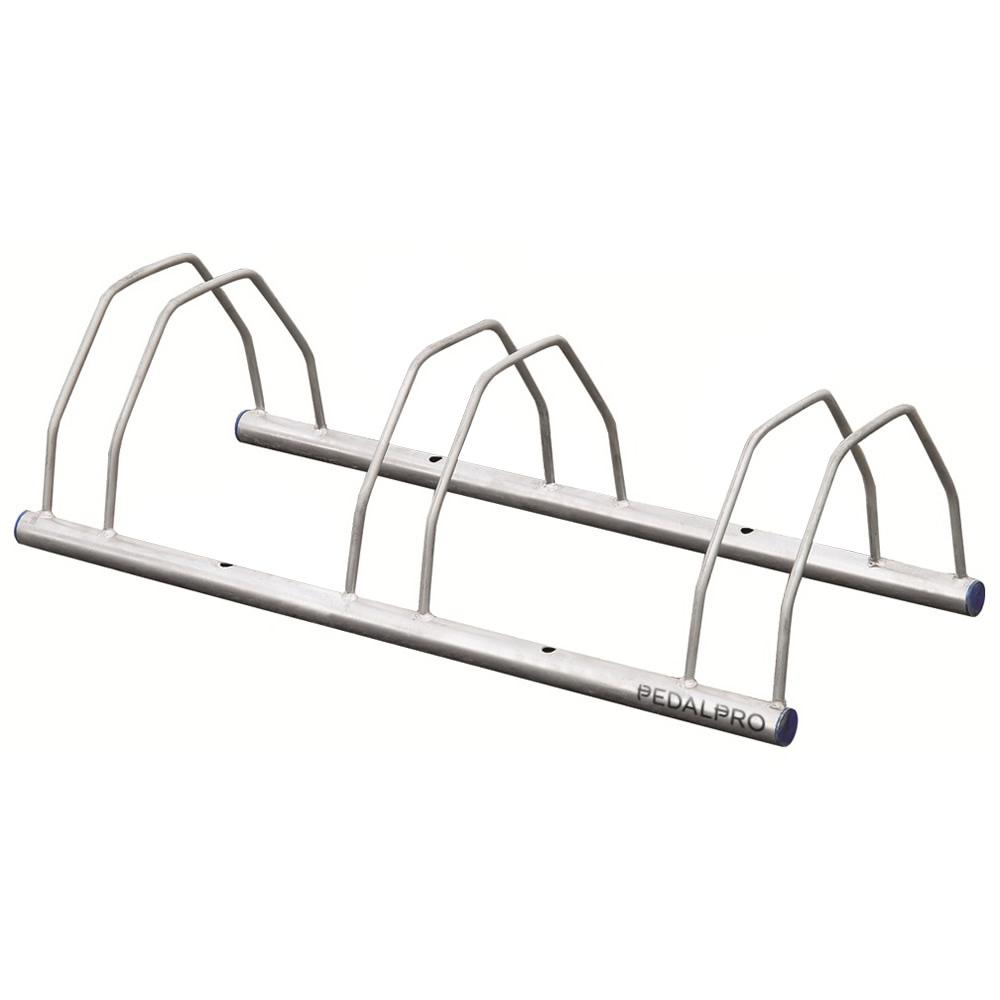 Support Velo Au Plafond détails sur pedalpro râtelier support de rangement porte-vélo pour 3 vélos  montage mur/sol